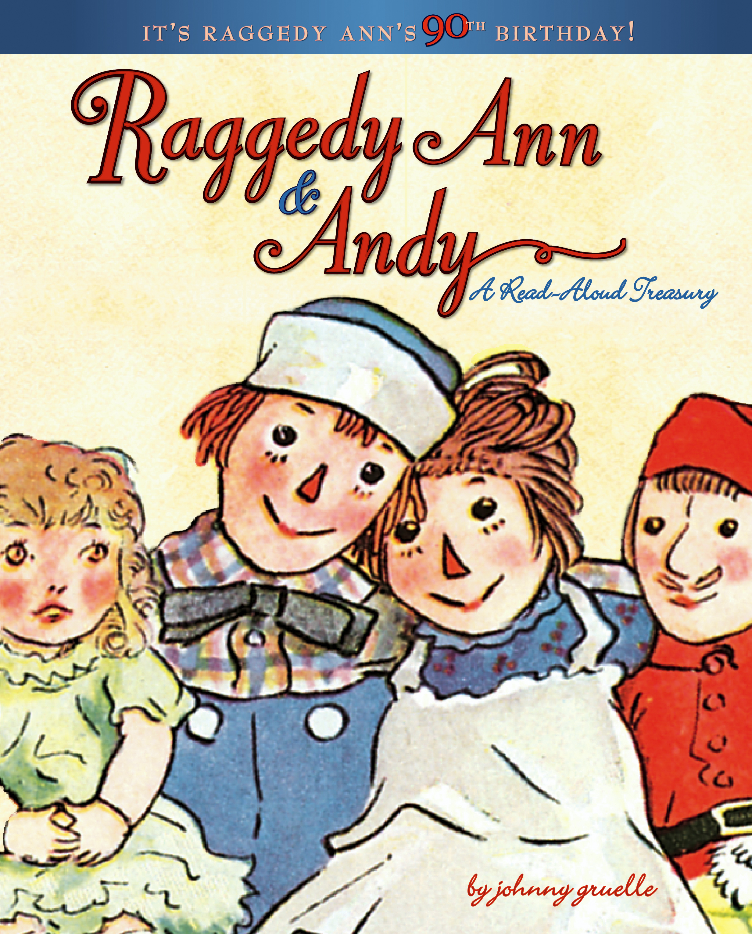 Raggedy Ann & Andy   Book by Johnny Gruelle   Official ...