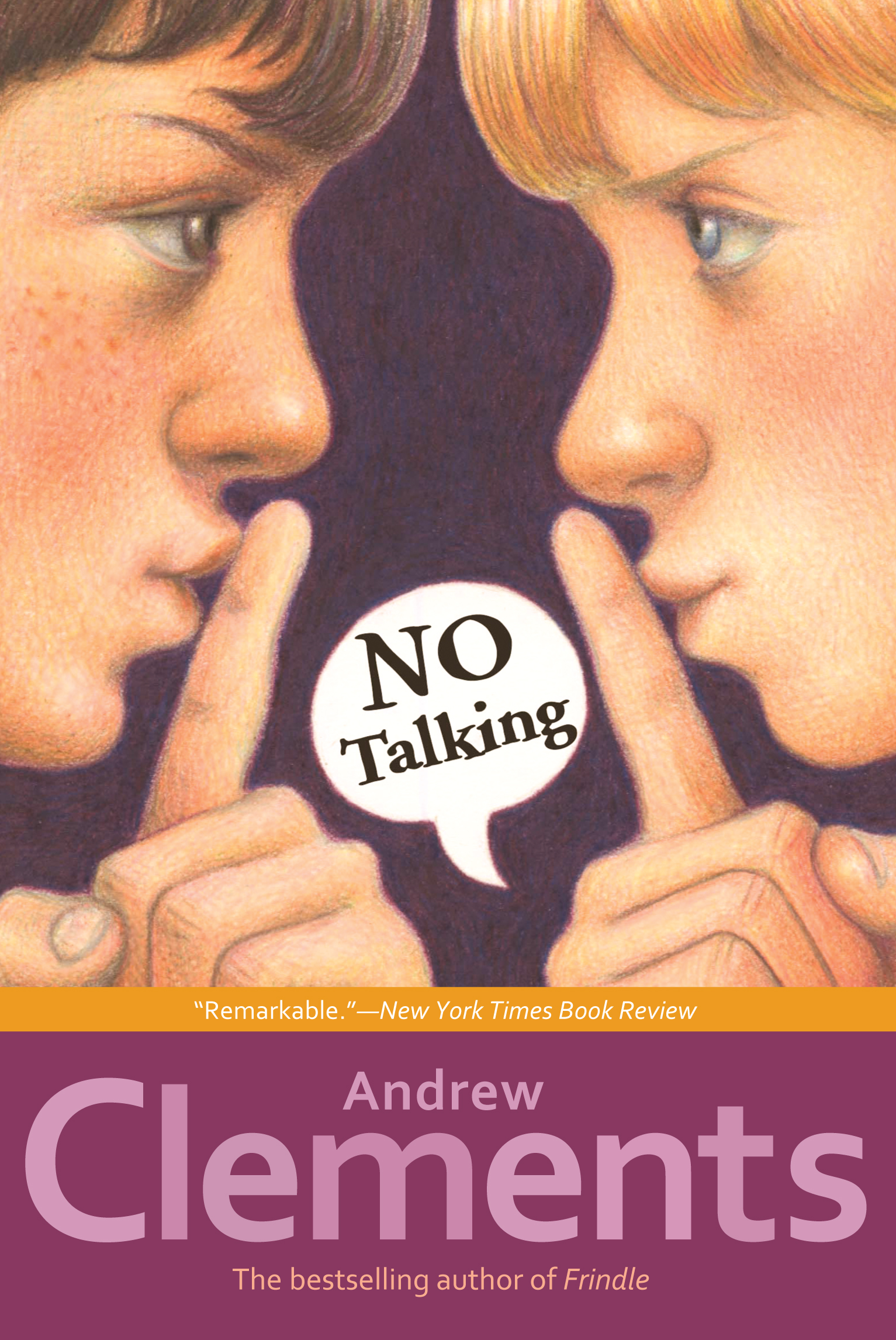 No talking book by andrew clements mark elliott official cvr9781416909842 9781416909842 hr publicscrutiny Gallery