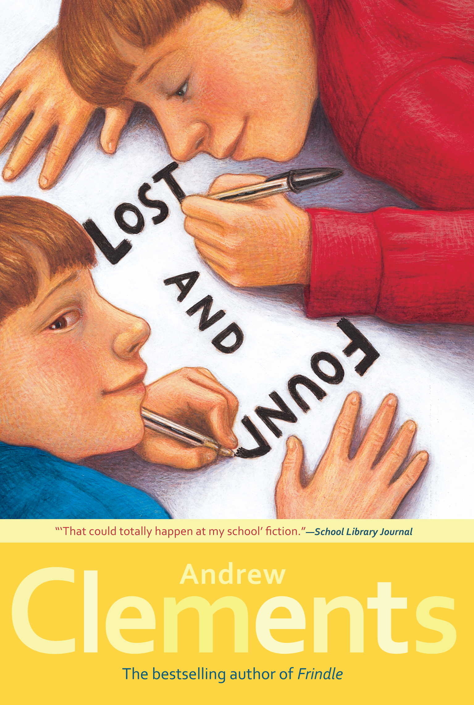 Lost and found book by andrew clements mark elliott official cvr9781416909866 9781416909866 hr publicscrutiny Gallery