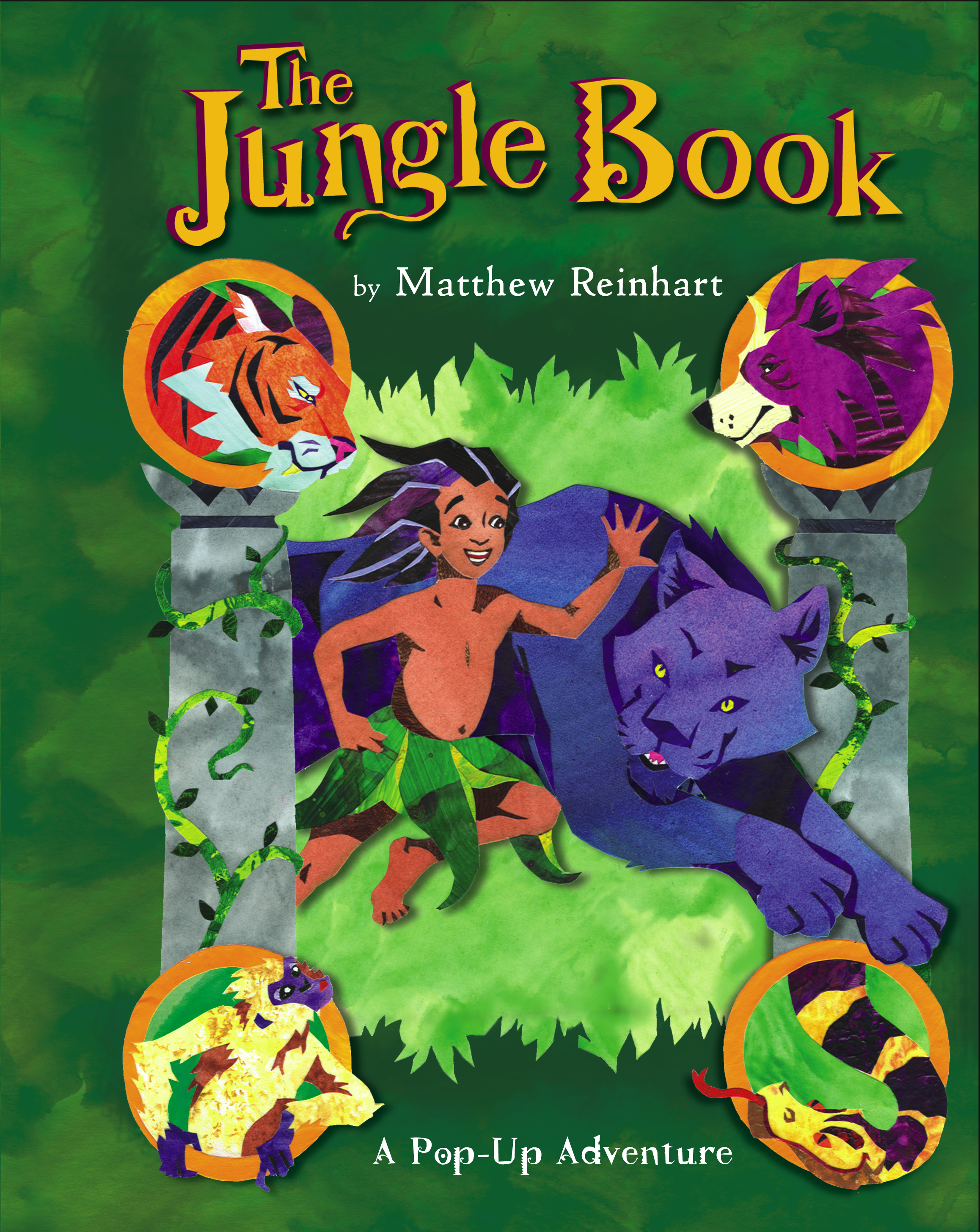 The Jungle Book | Book by Matthew Reinhart | Official Publisher Page