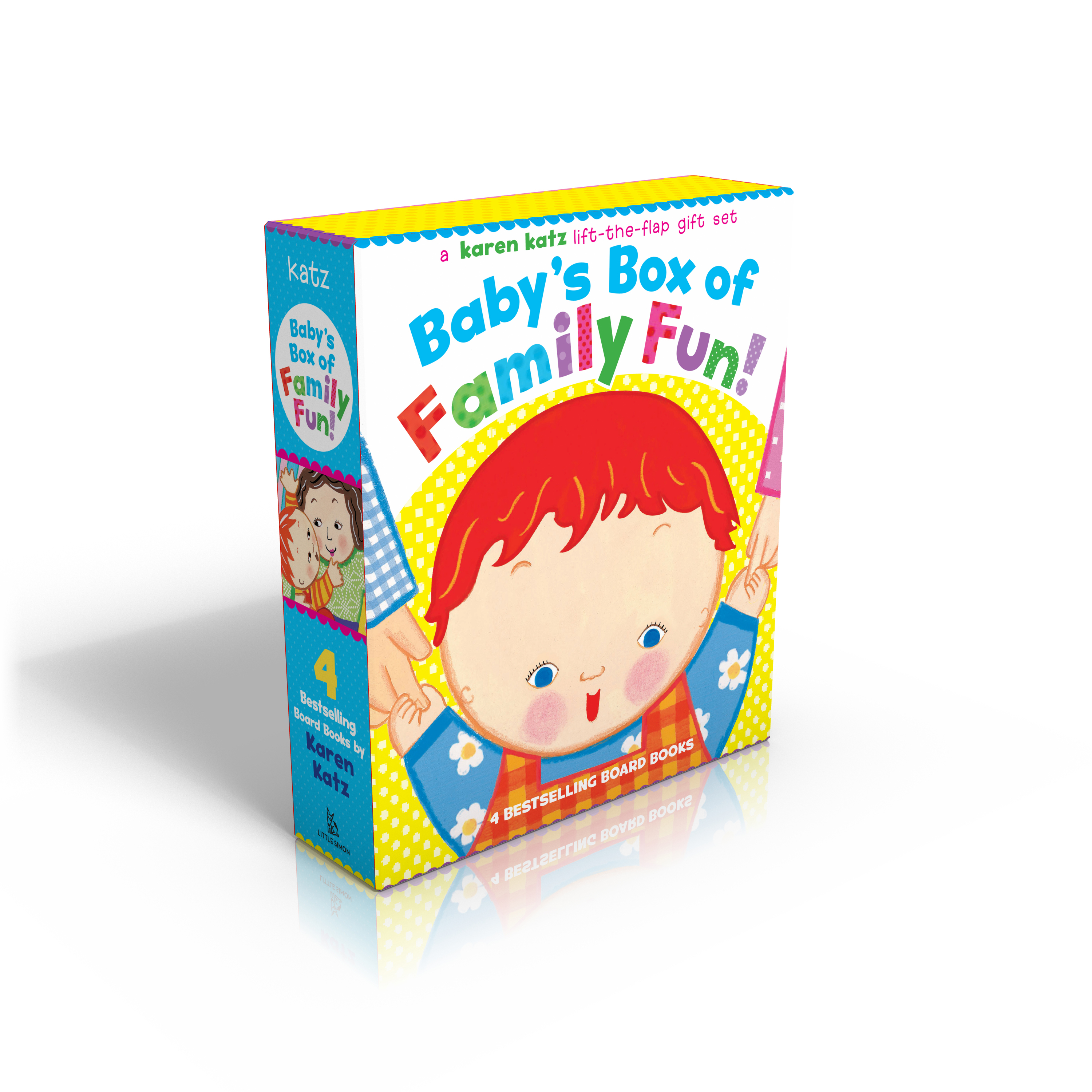 baby s box of family fun book by karen katz official publisher