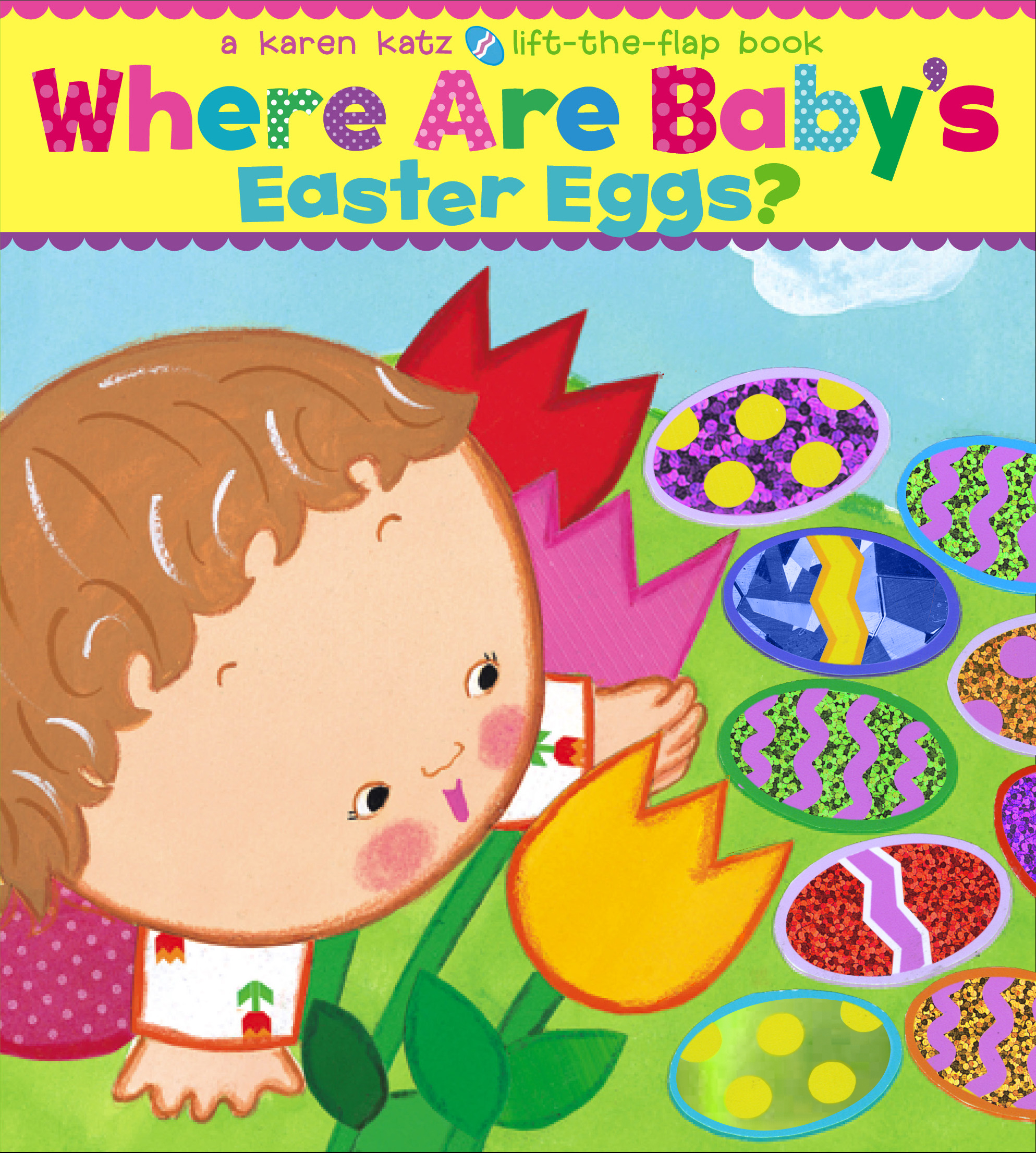 Where are babys easter eggs book by karen katz official cvr9781416949244 9781416949244 hr where are babys easter negle Images