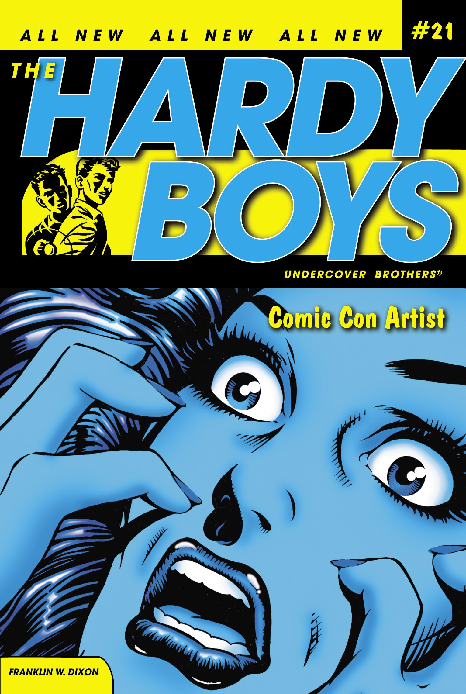 Comic Con Artist Book By Franklin W Dixon Official Publisher Page Simon Schuster