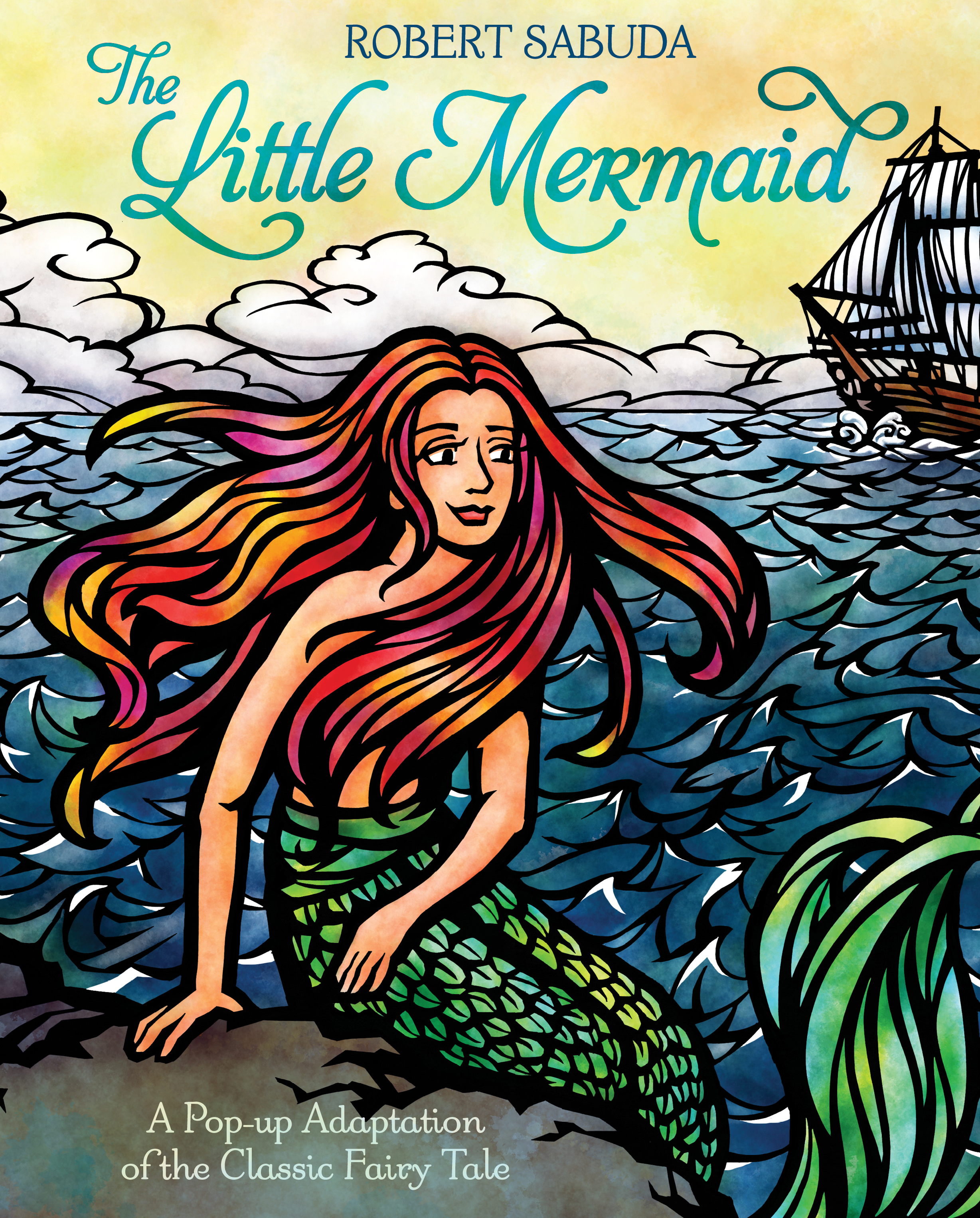 Cover Up Book : The little mermaid book by robert sabuda official