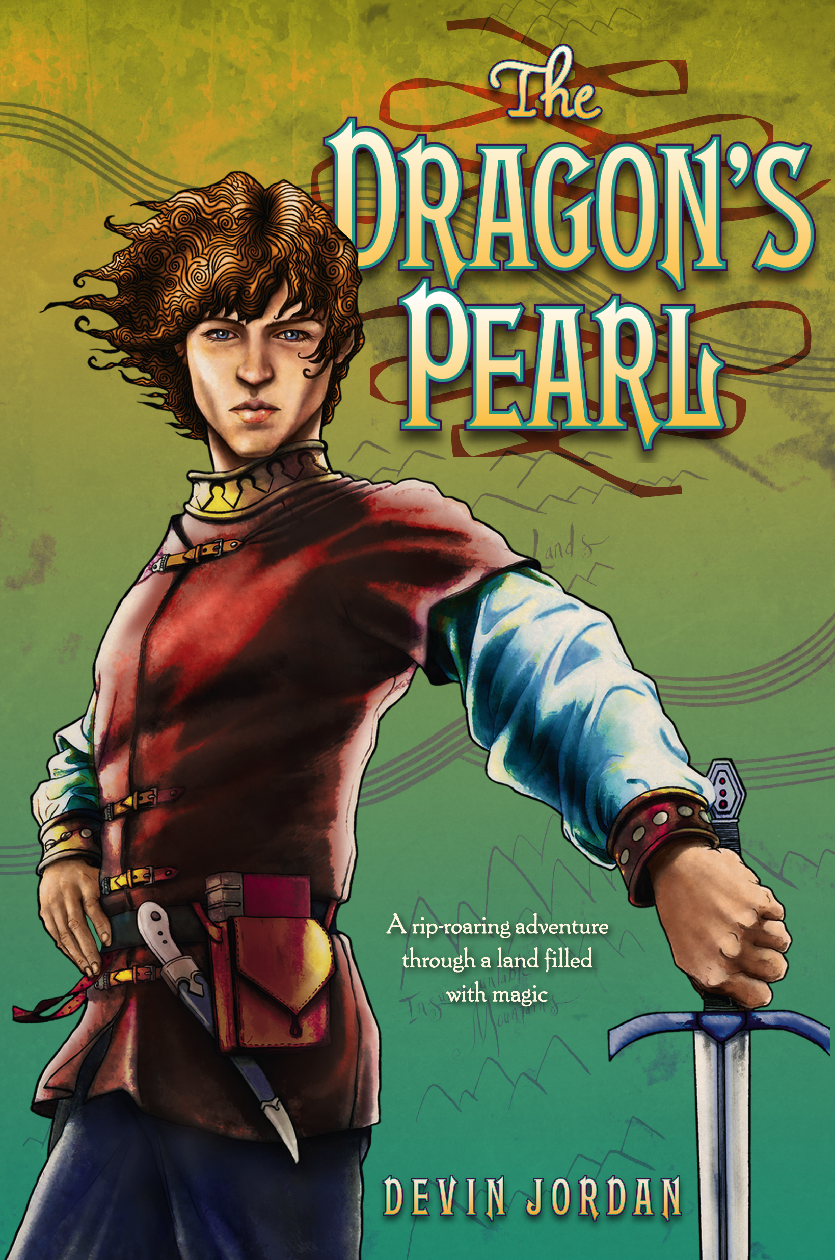 Book Cover Image (jpg): The Dragon's Pearl