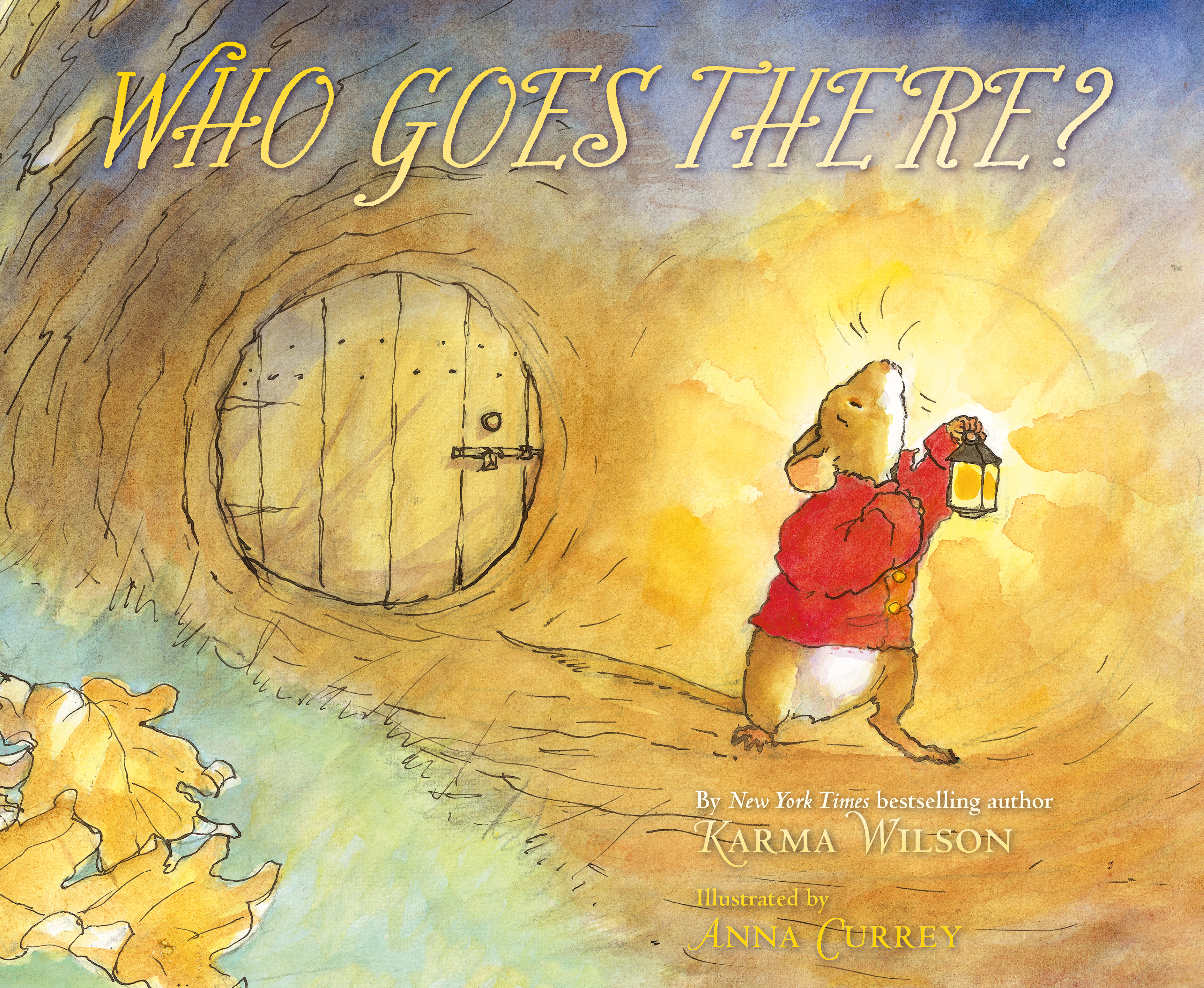 Who Goes There? | Book by Karma Wilson, Anna Currey
