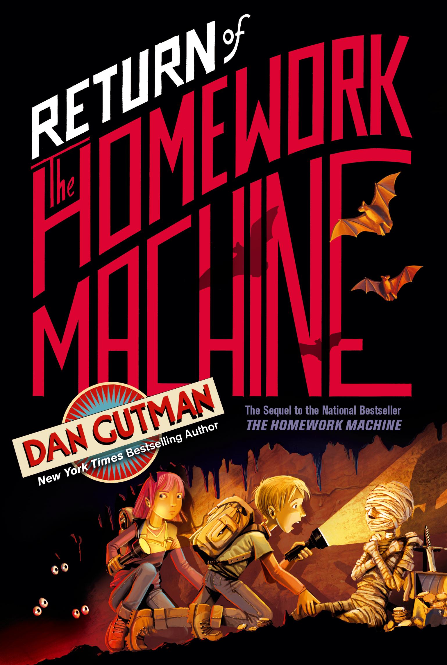 the return of the homework machine by dan gutman