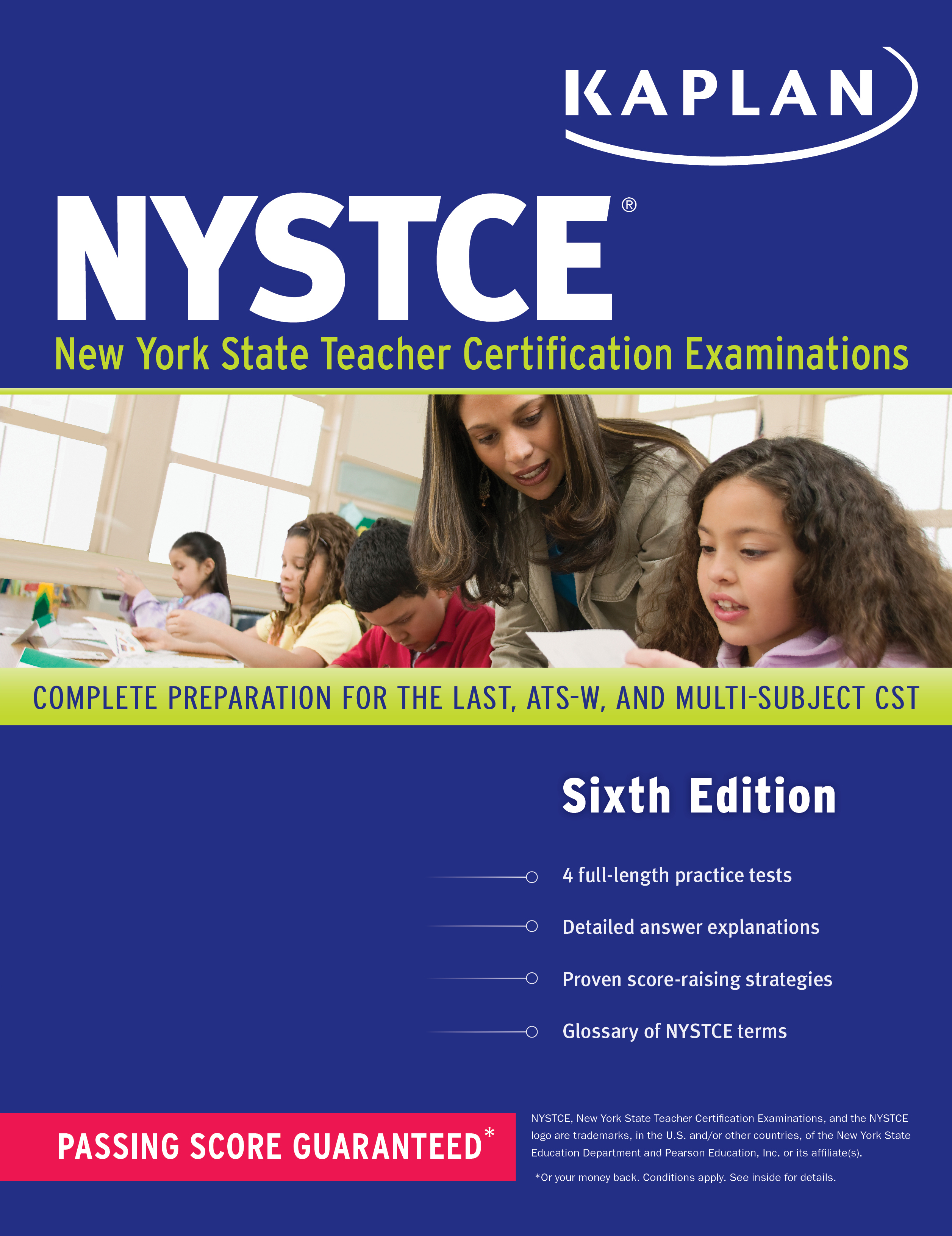 Kaplan Nystce Book By Kaplan Test Prep Kaplan Official