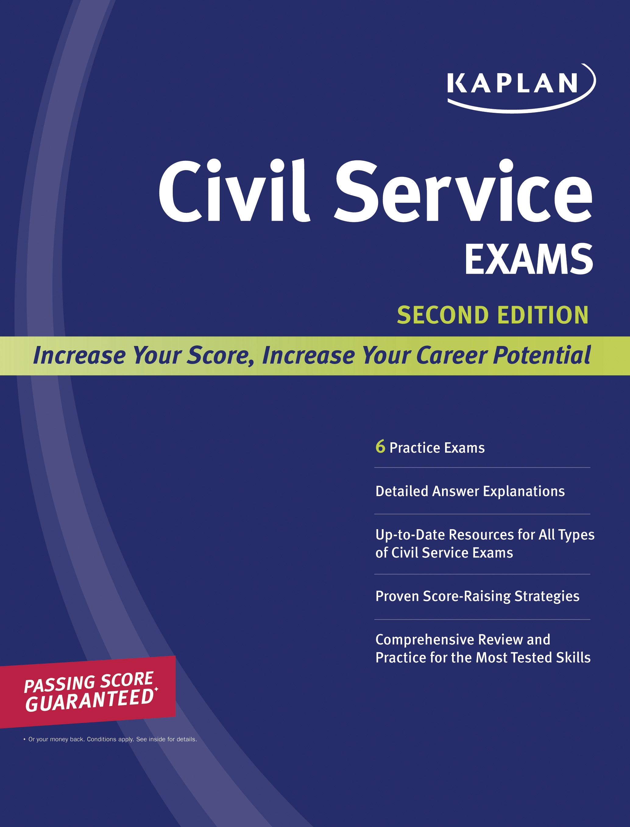 Book Cover Image (jpg): Kaplan Civil Service Exams