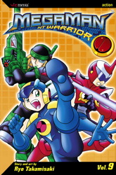 MegaMan NT Warrior, Vol. 9