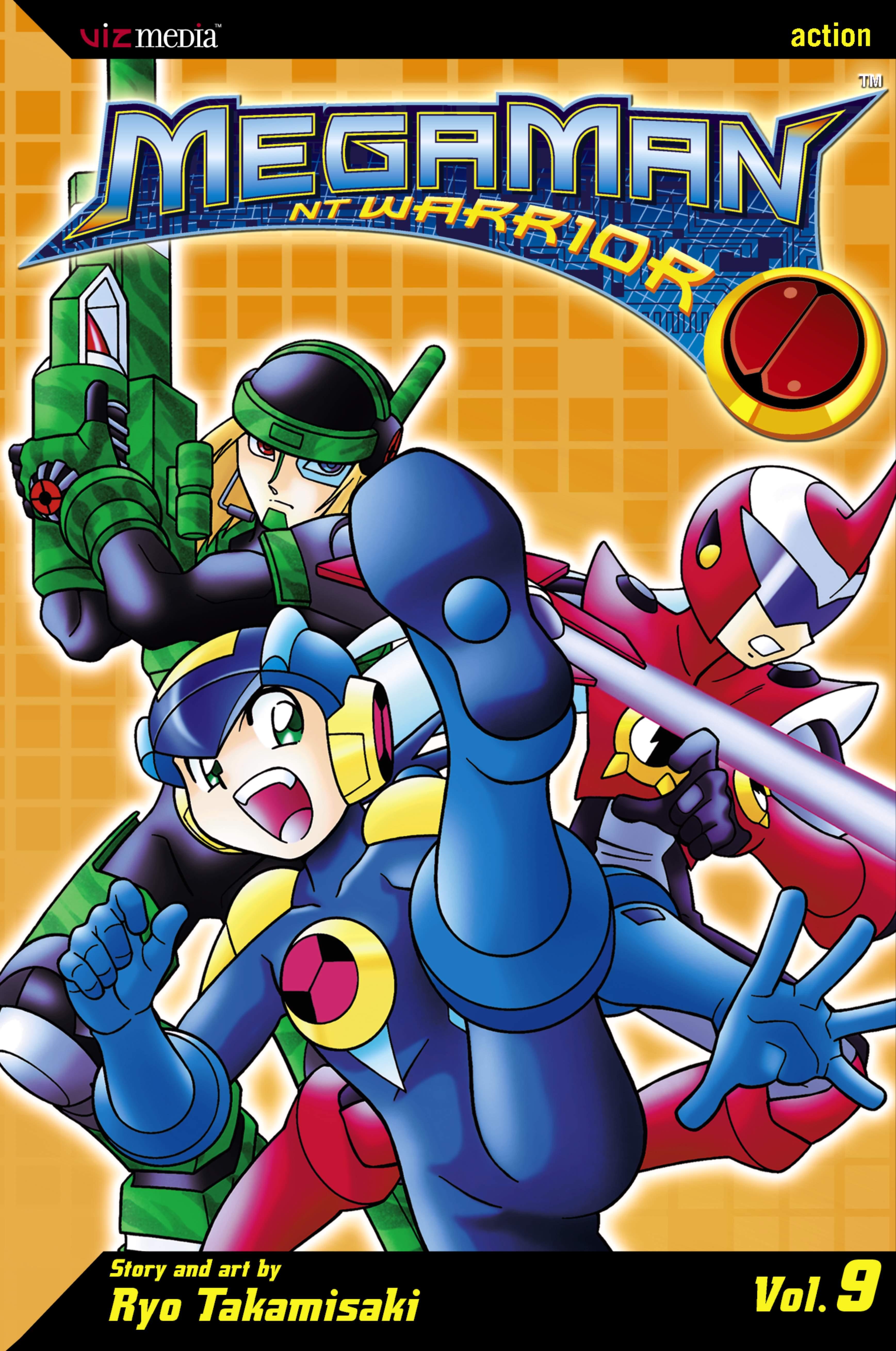 megaman nt warrior vol 9 book by ryo takamisaki official