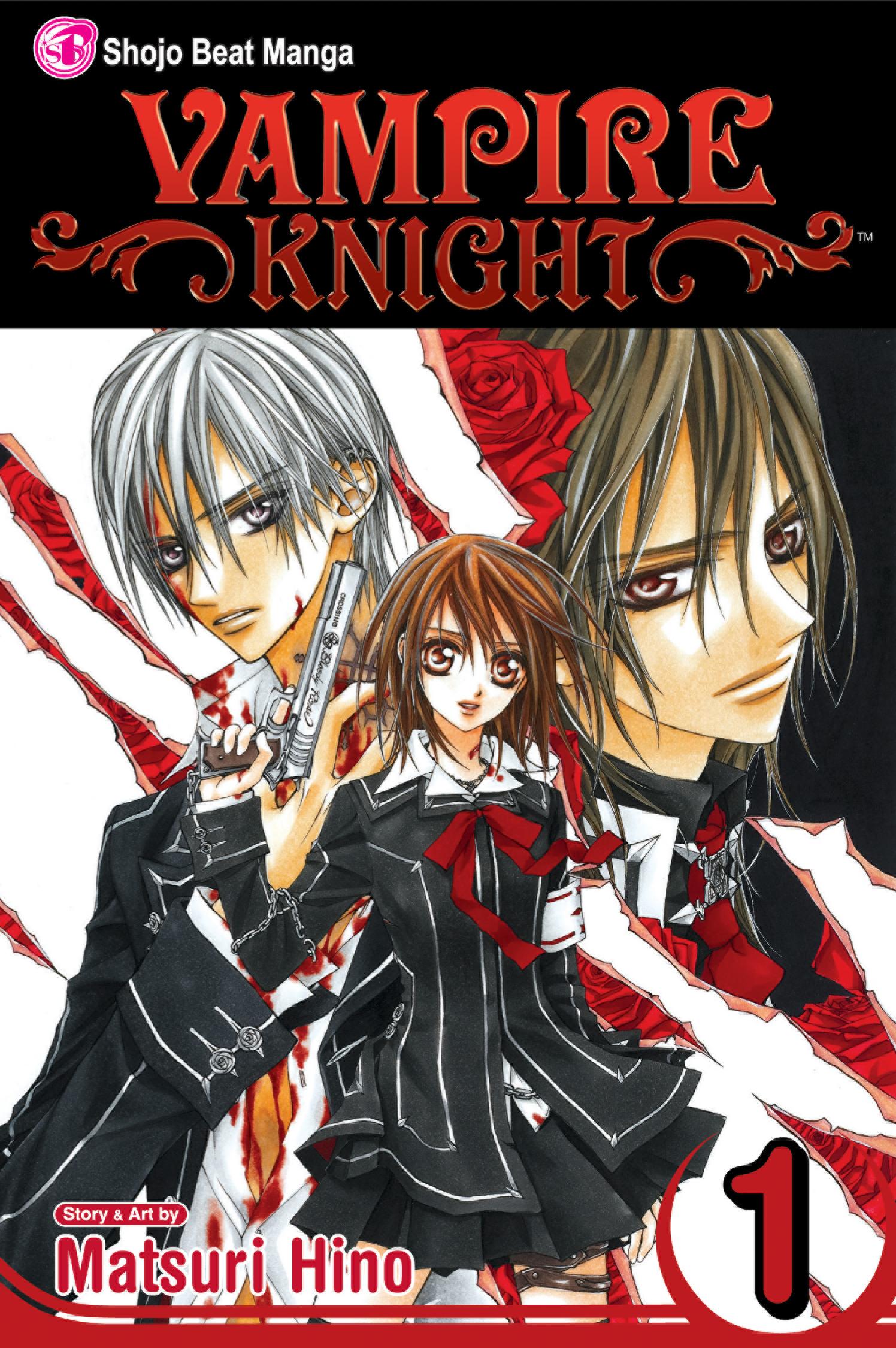 vampire knight vol books hr