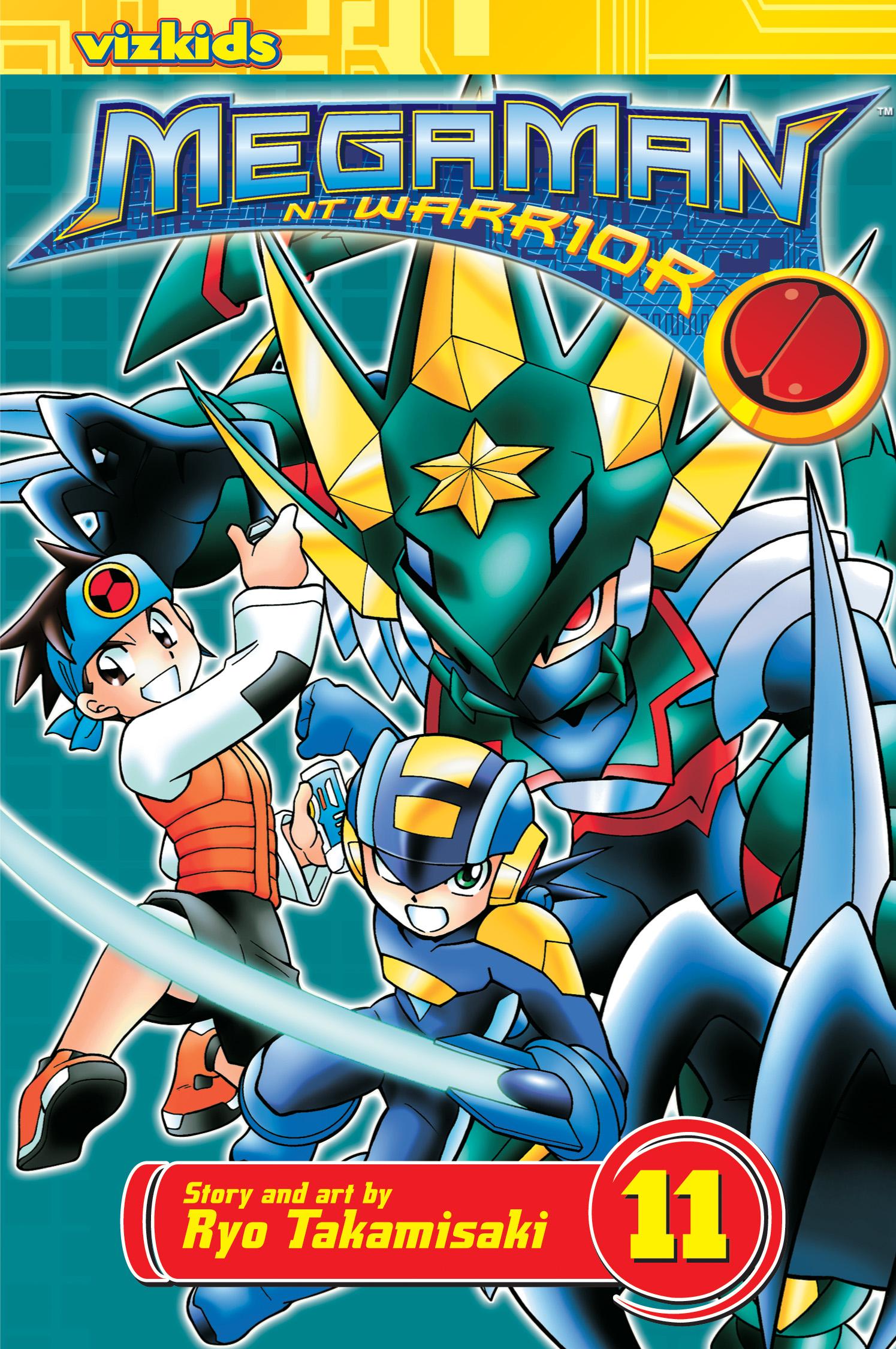 megaman nt warrior vol 11 book by ryo takamisaki official