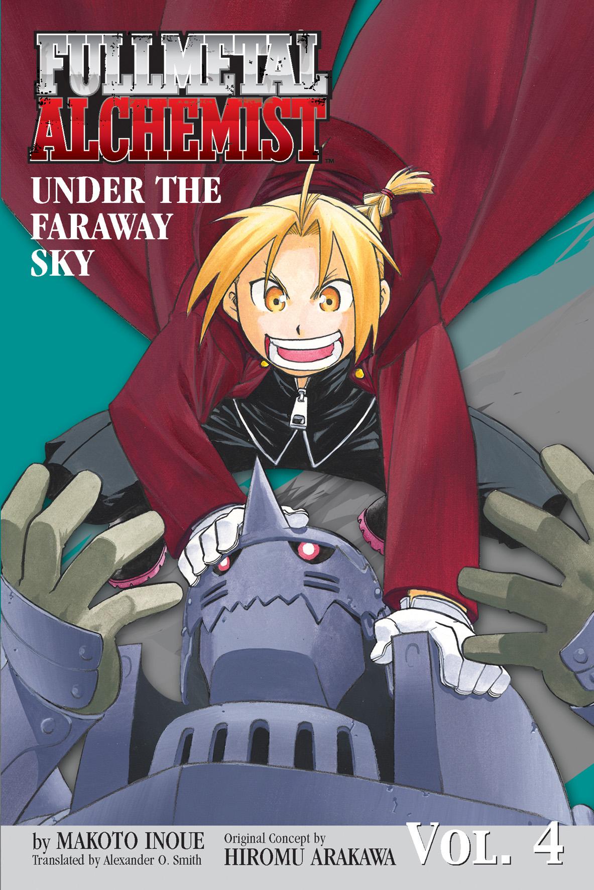 fullmetal alchemist the ties that bind novel book by makoto fullmetal alchemist under the faraway sky novel