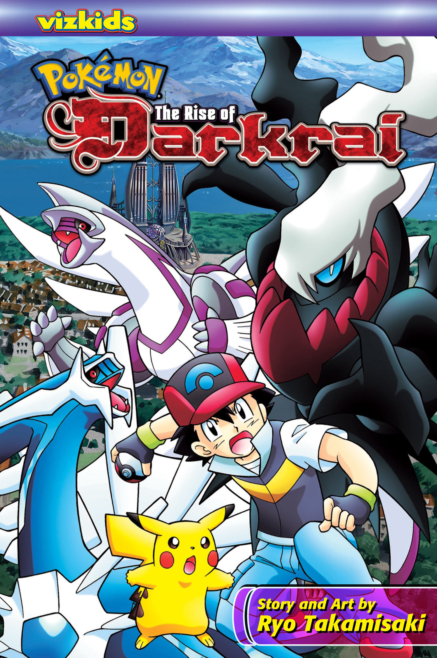 pokémon: the rise of darkrai | book by ryo takamisaki | official