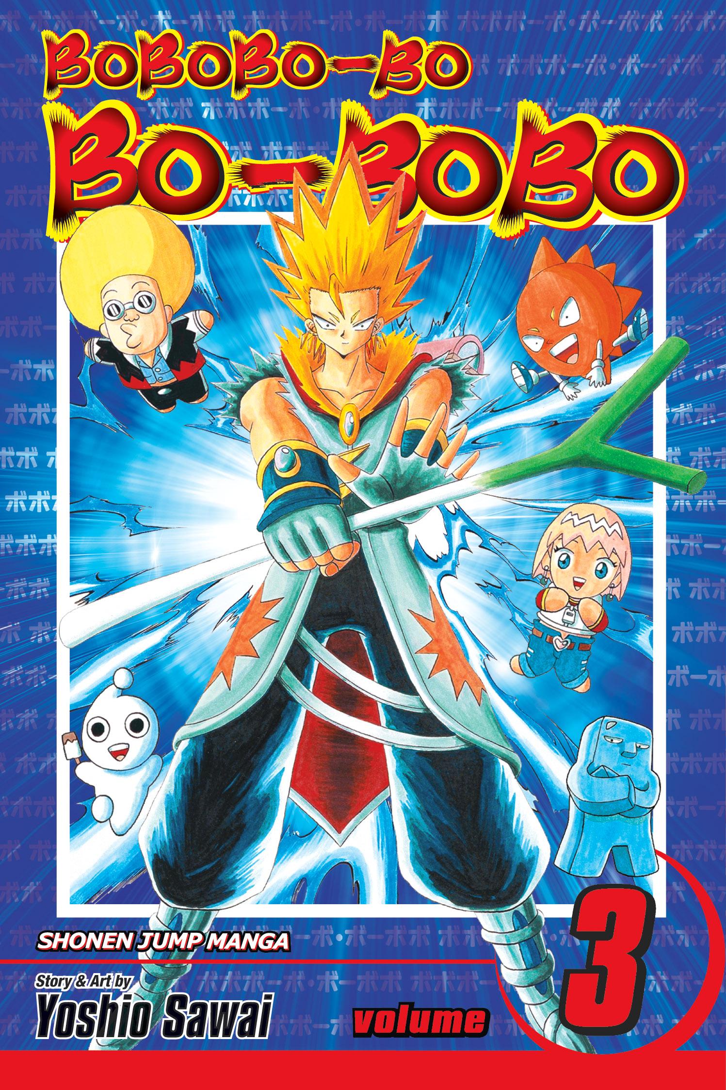 Bobobo Bo Bo Bobo Vol 3 Sj Edition Book By Yoshio Sawai