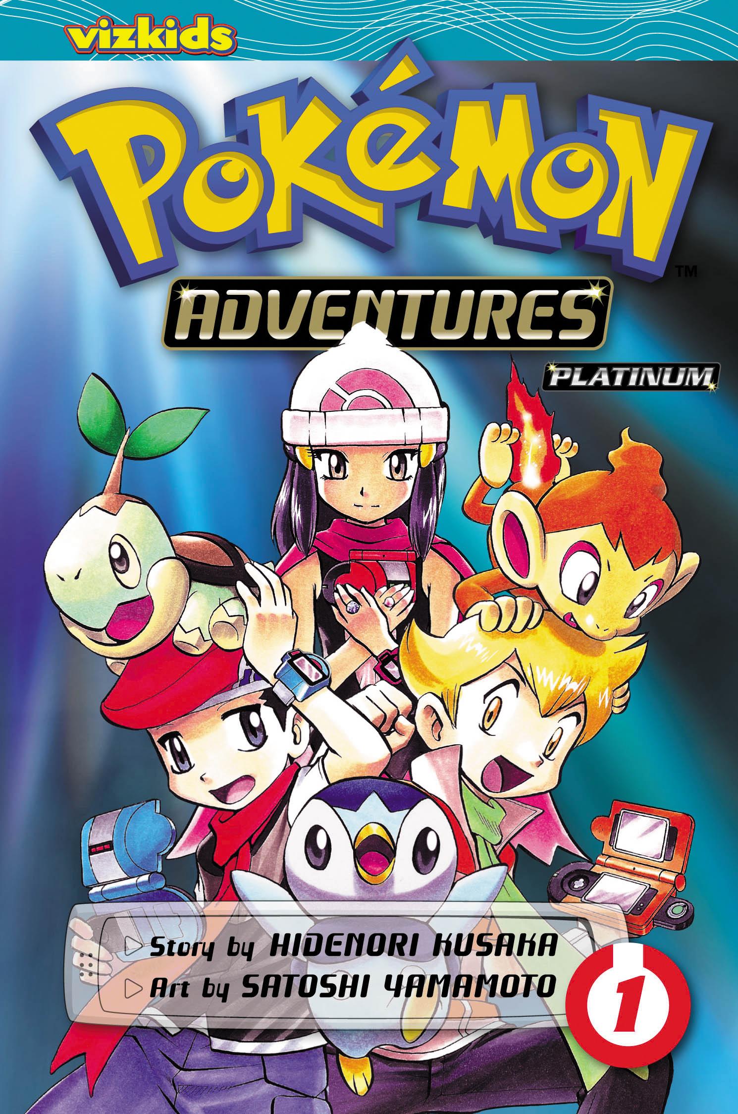 Pok 233 Mon Adventures Diamond And Pearl Platinum Vol 1