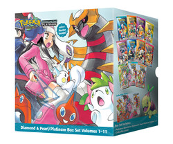 Pokémon Adventures Diamond & Pearl / Platinum Box Set