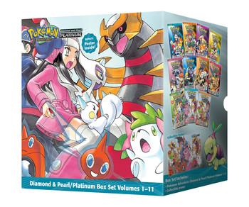 Pokémon Adventures Diamond & Pearl / Platinum Box Set