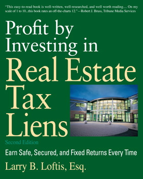 Profit by Investing in Real Estate Tax Liens | Book by Larry