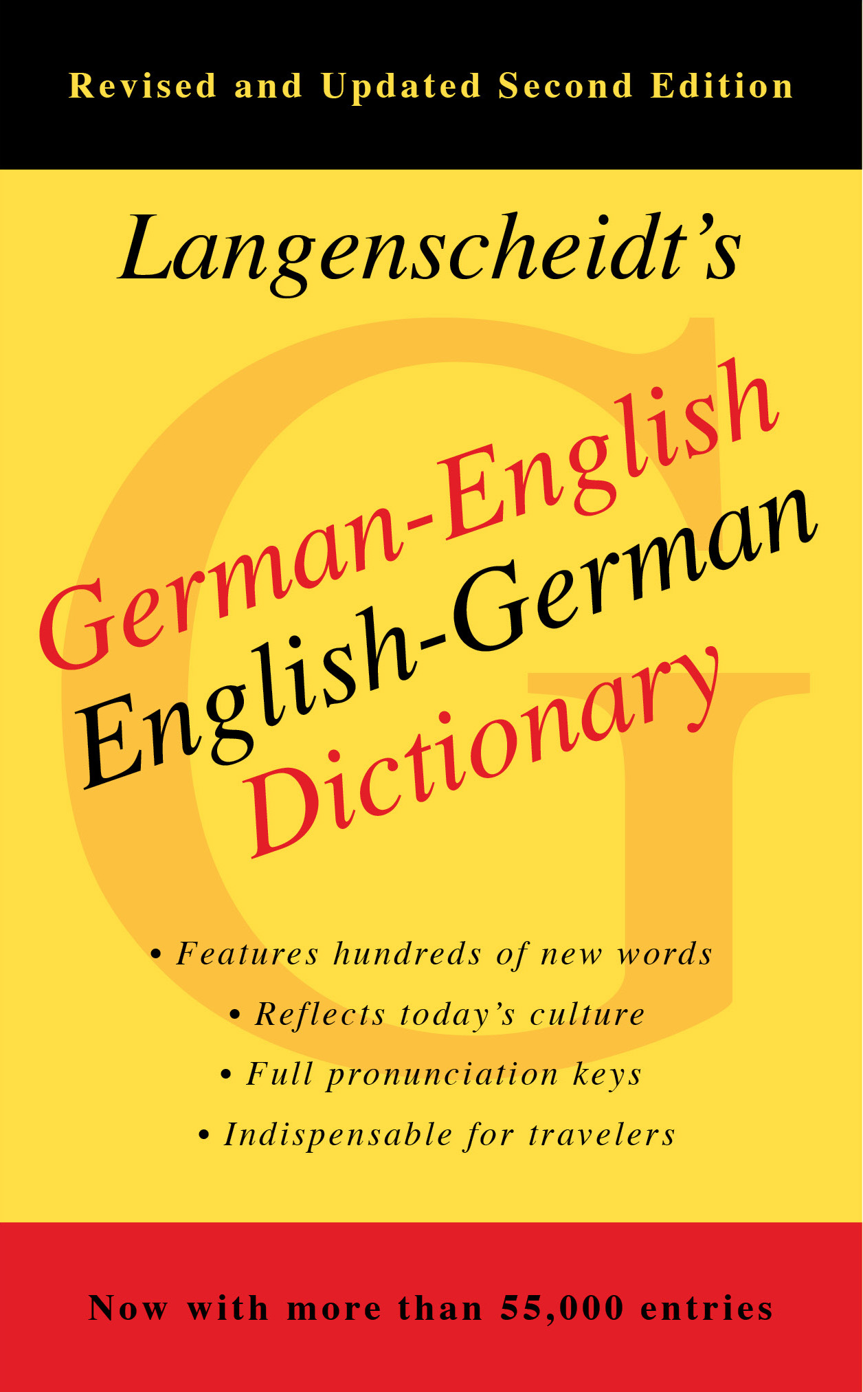 German English Dictionary, Second Edition   Book by Langenscheidt ...