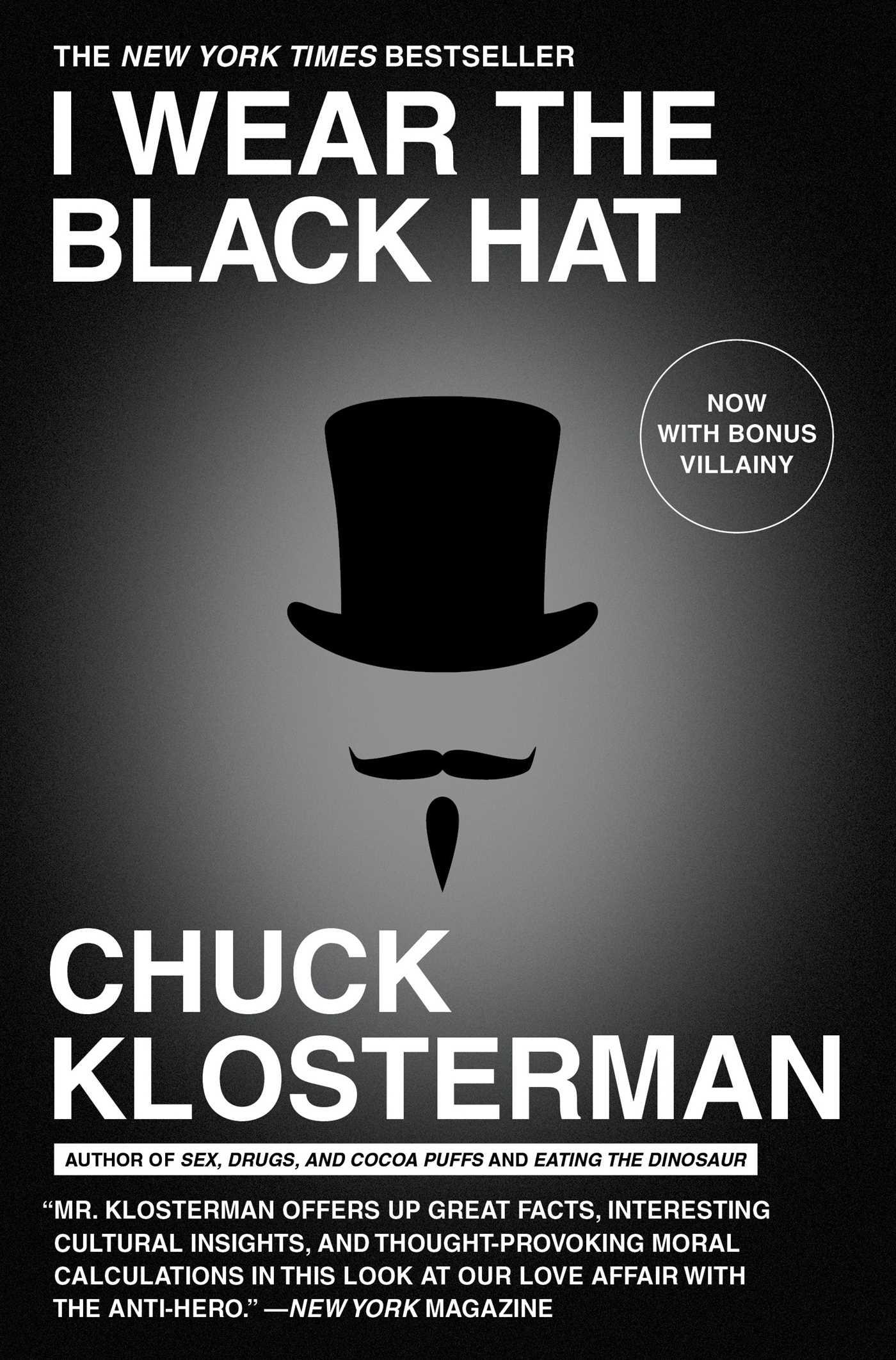 I wear the black hat 9781439184509 hr