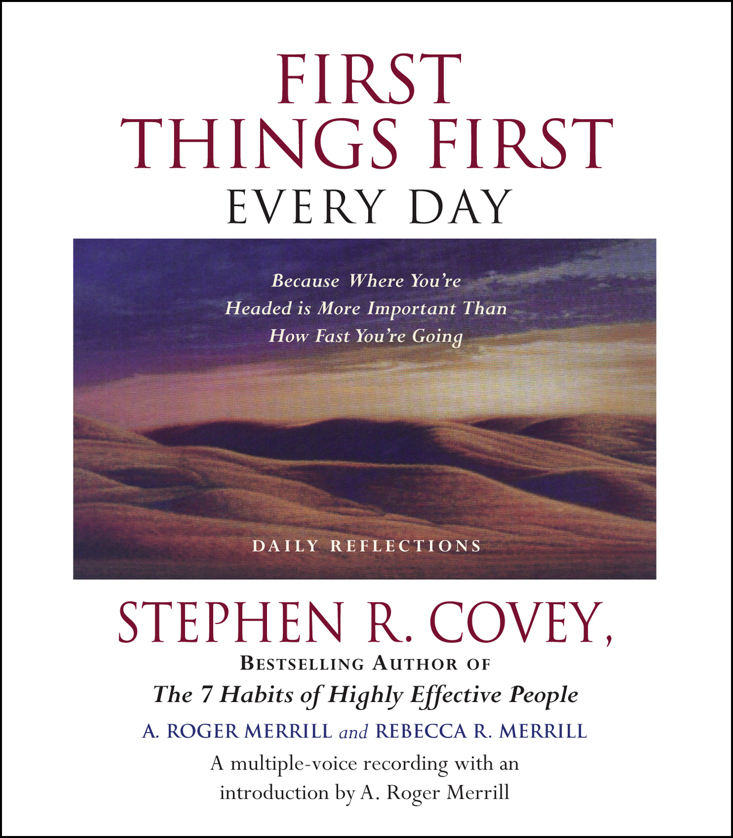 first things first book pdf free download