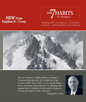 The 7 Habits for Managers Audiobook by Stephen R  Covey | Official