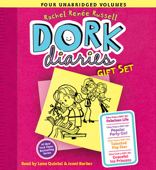 Dork Diaries Audio Gift Set