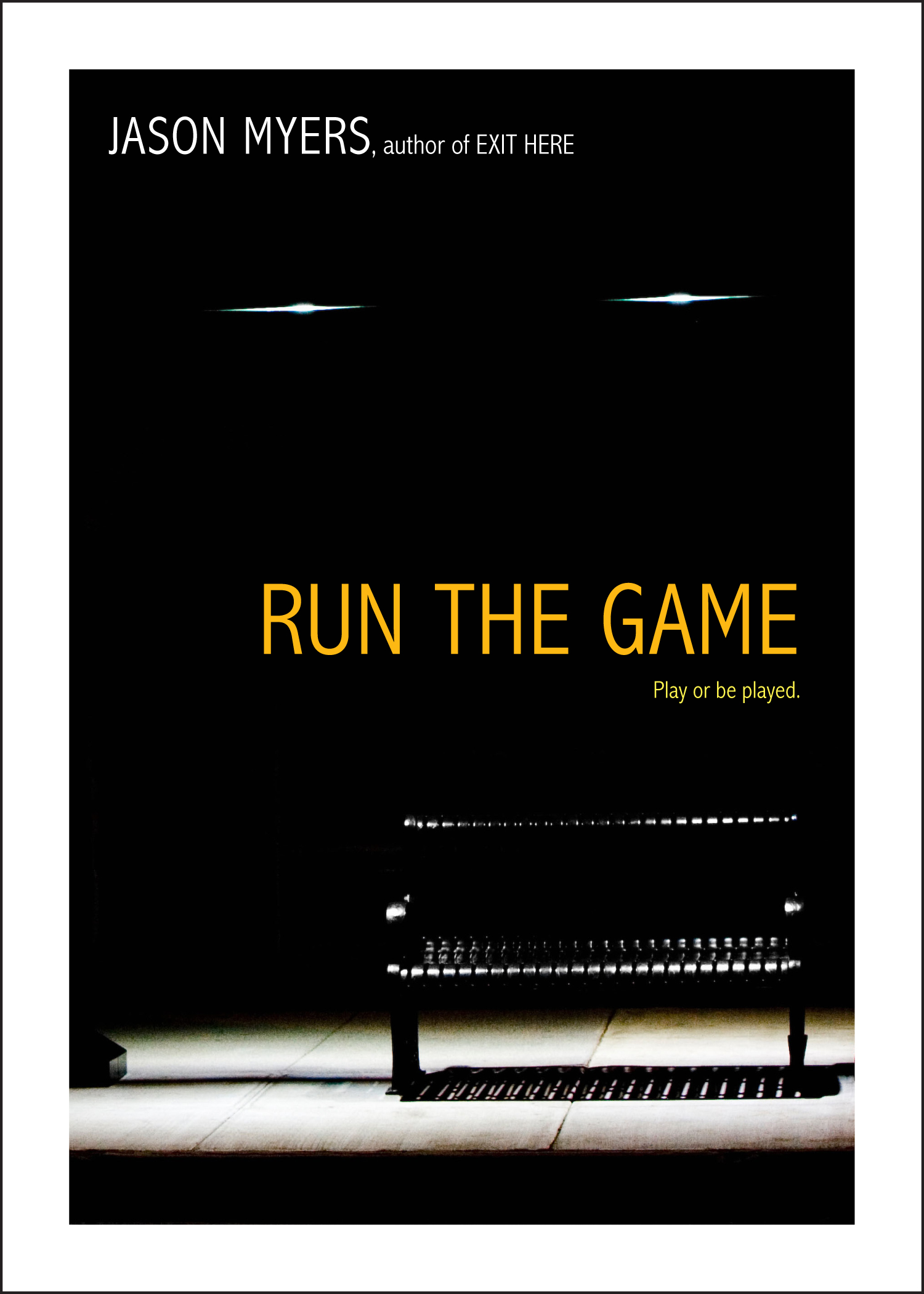 Book Cover Image (jpg): Run the Game