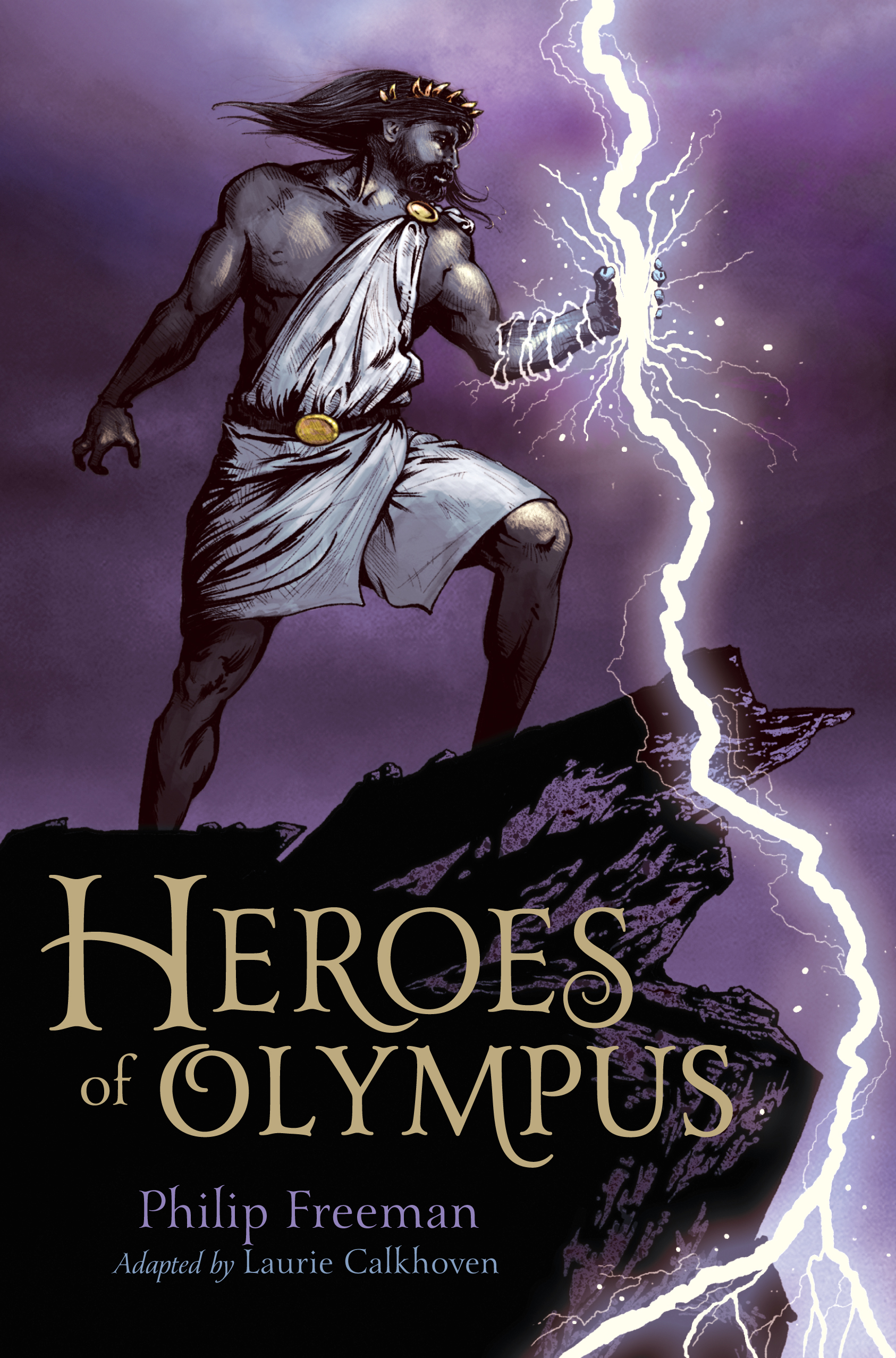 mythology fiction for 6th graders