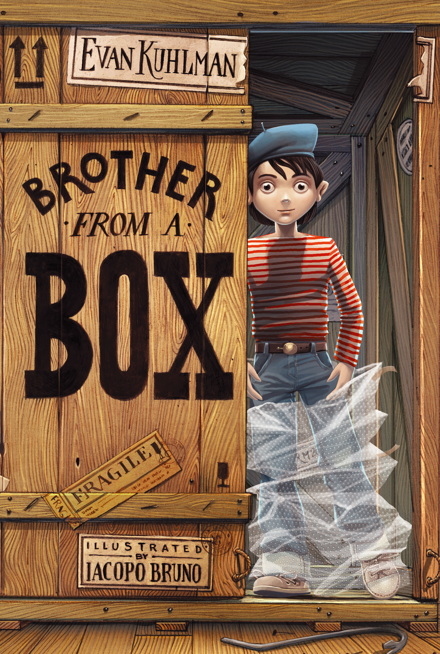 Brother From A Box Book By Evan Kuhlman Iacopo Bruno Official