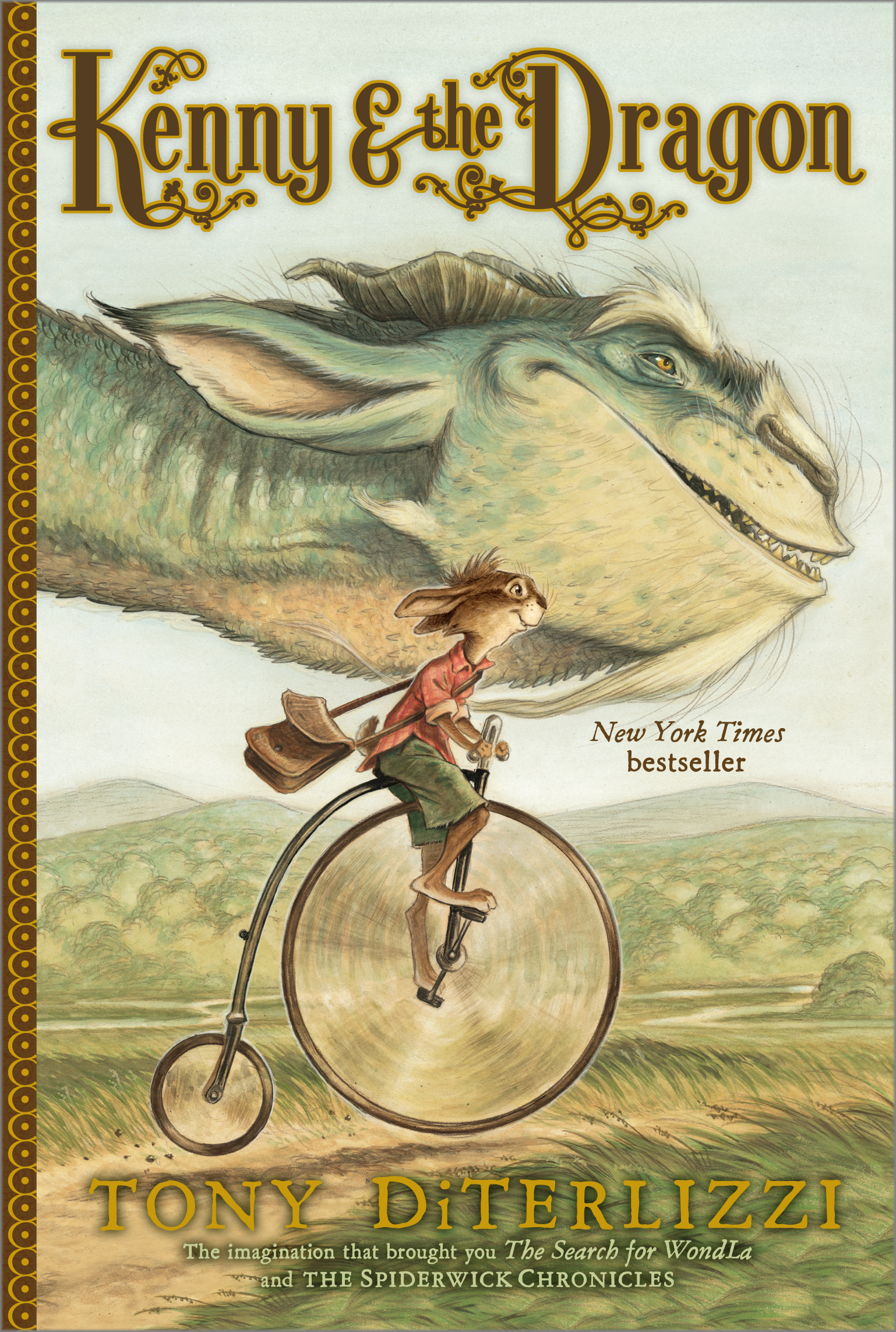Kenny Amp The Dragon Book By Tony Diterlizzi Official