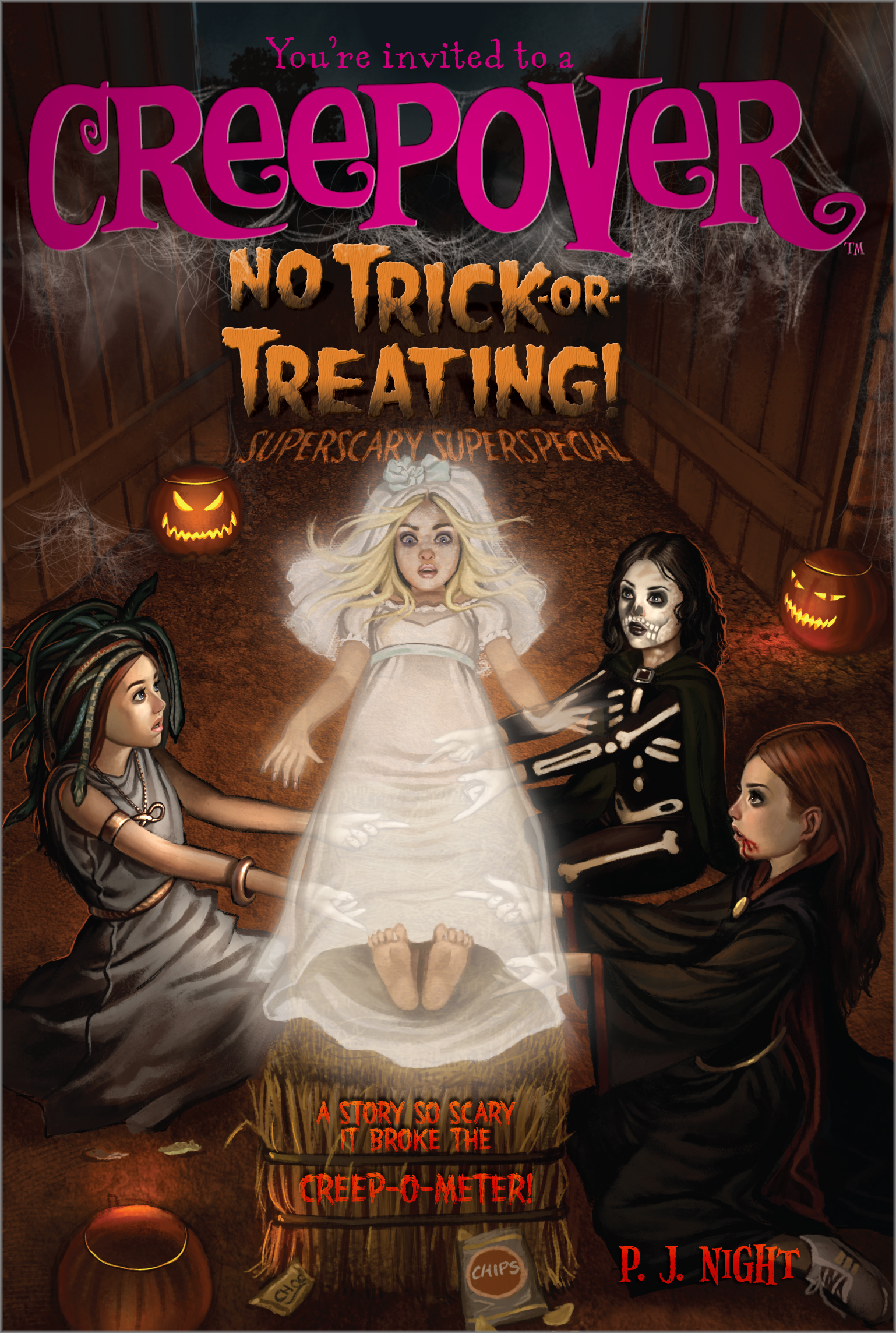 No Trick Or Treating Book By P J Night Official Publisher Page
