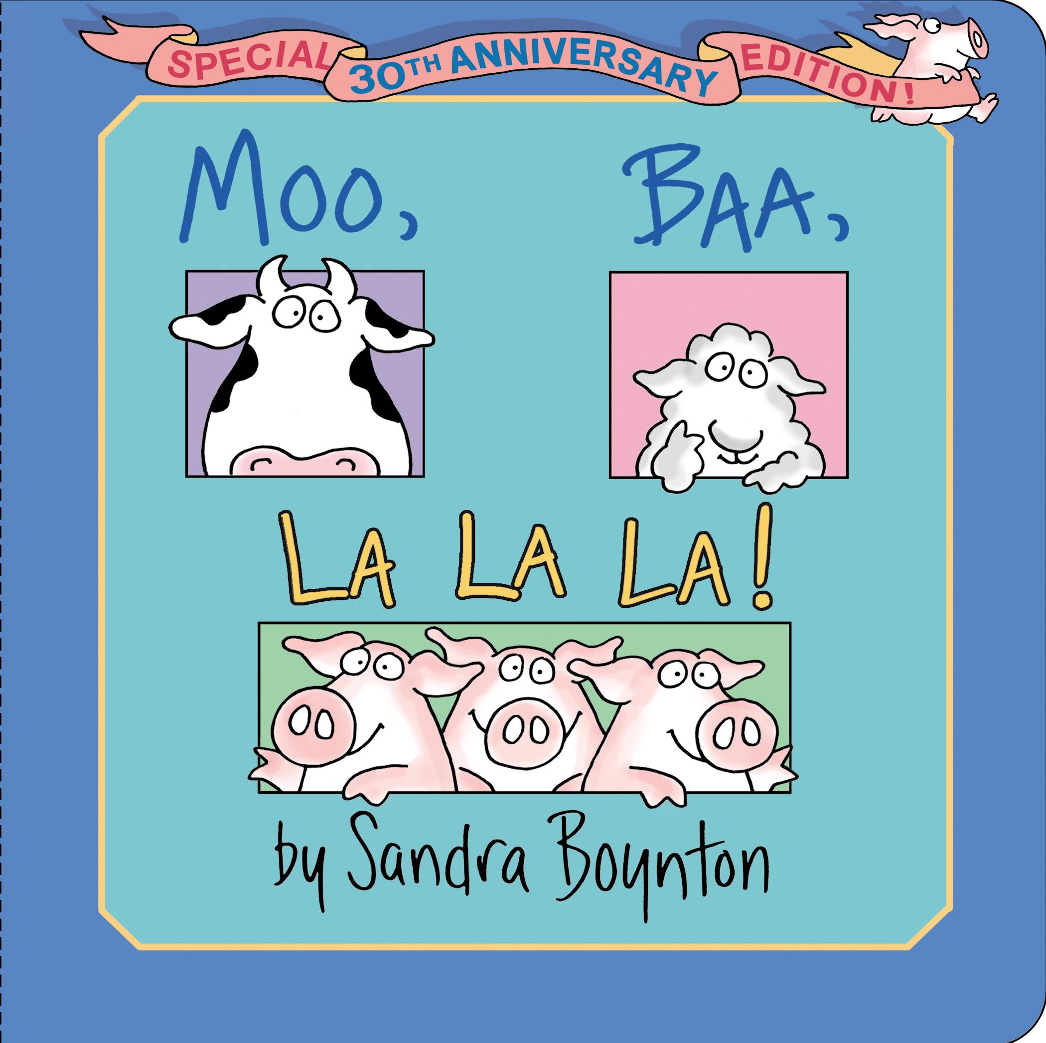Moo, Baa, La La La! | Book by Sandra Boynton | Official