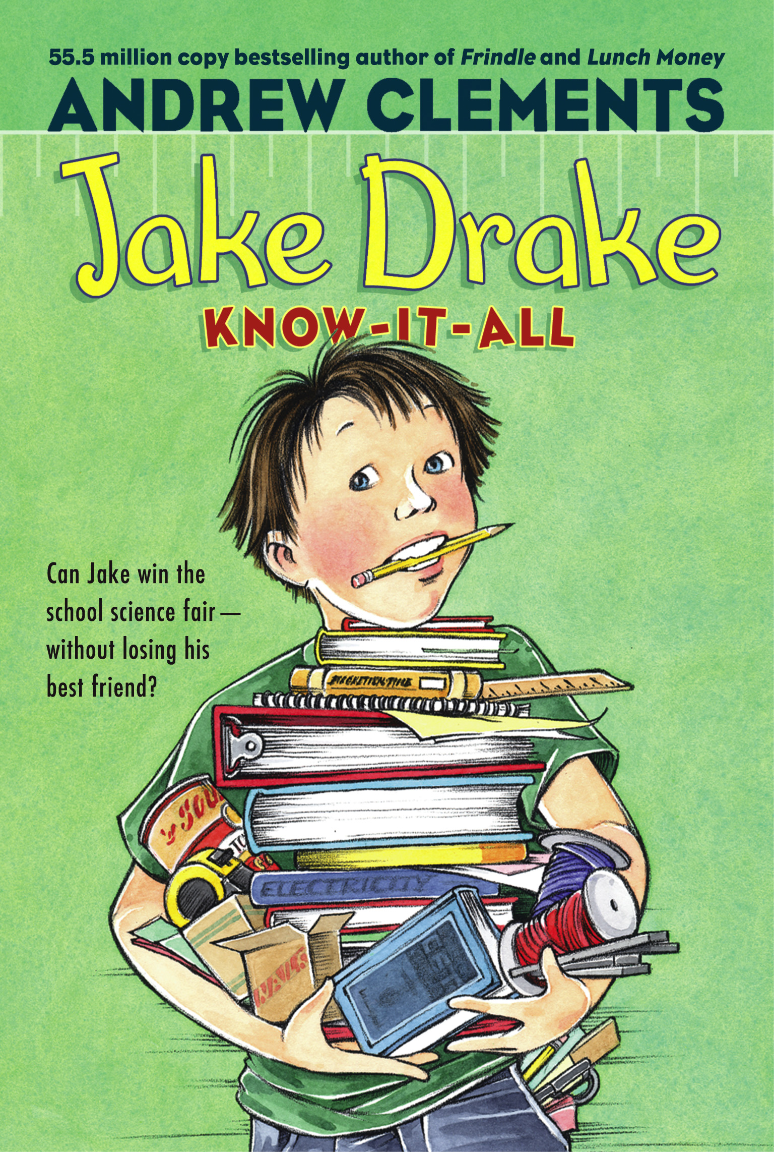 Book Cover Image (jpg): Jake Drake, Know-It-All. eBook 9781442462366