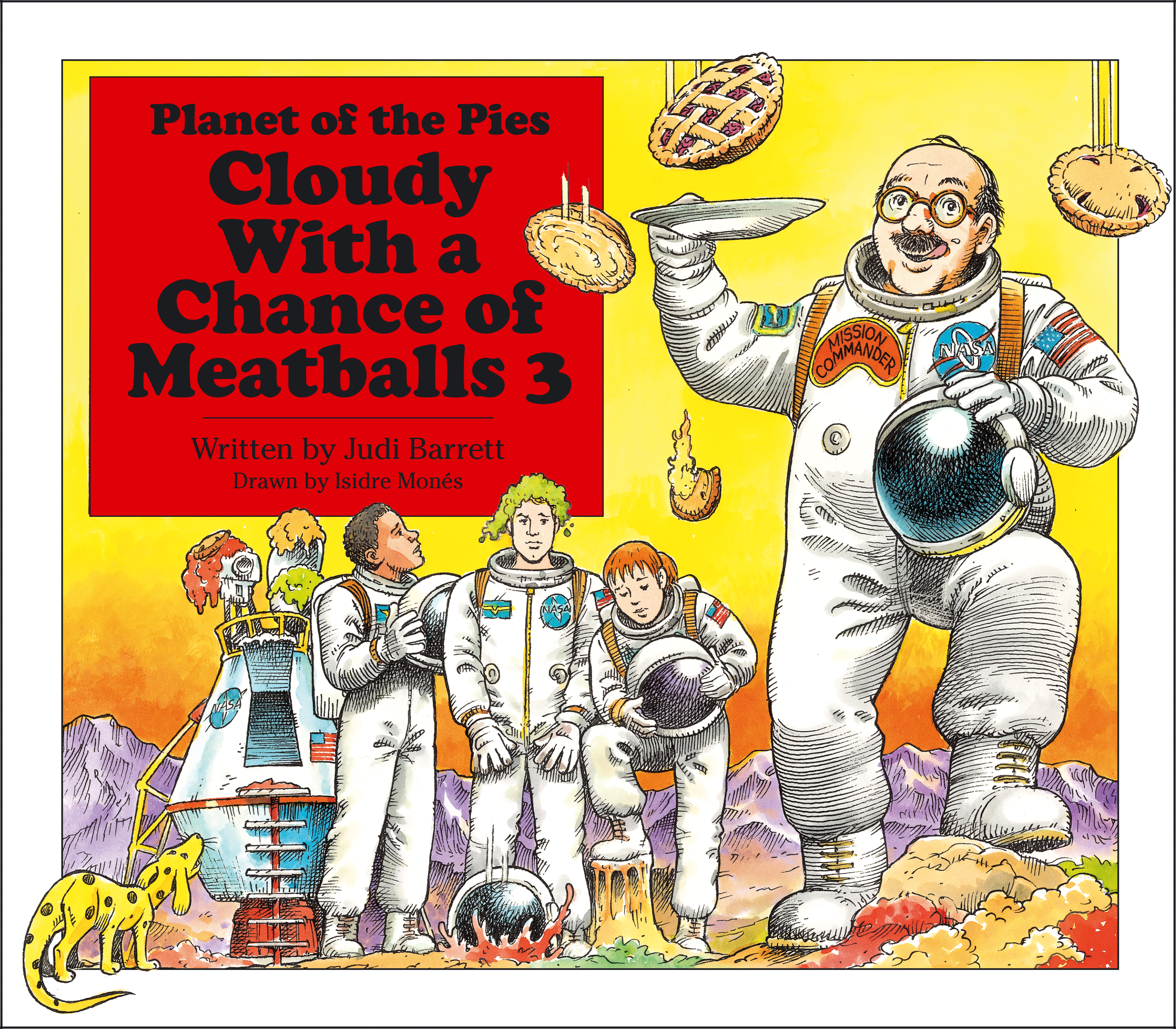 cloudy with a chance of meatballs 3 | bookjudi barrett, isidre