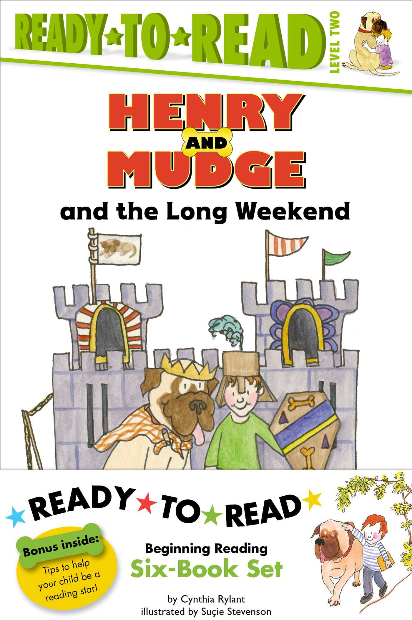 Henry And Mudge Ready To Read Value Pack 2 Book By Cynthia Rylant
