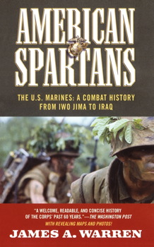 American spartans book by james a warren official publisher the us marines a combat history from iwo jima american spartans fandeluxe Image collections