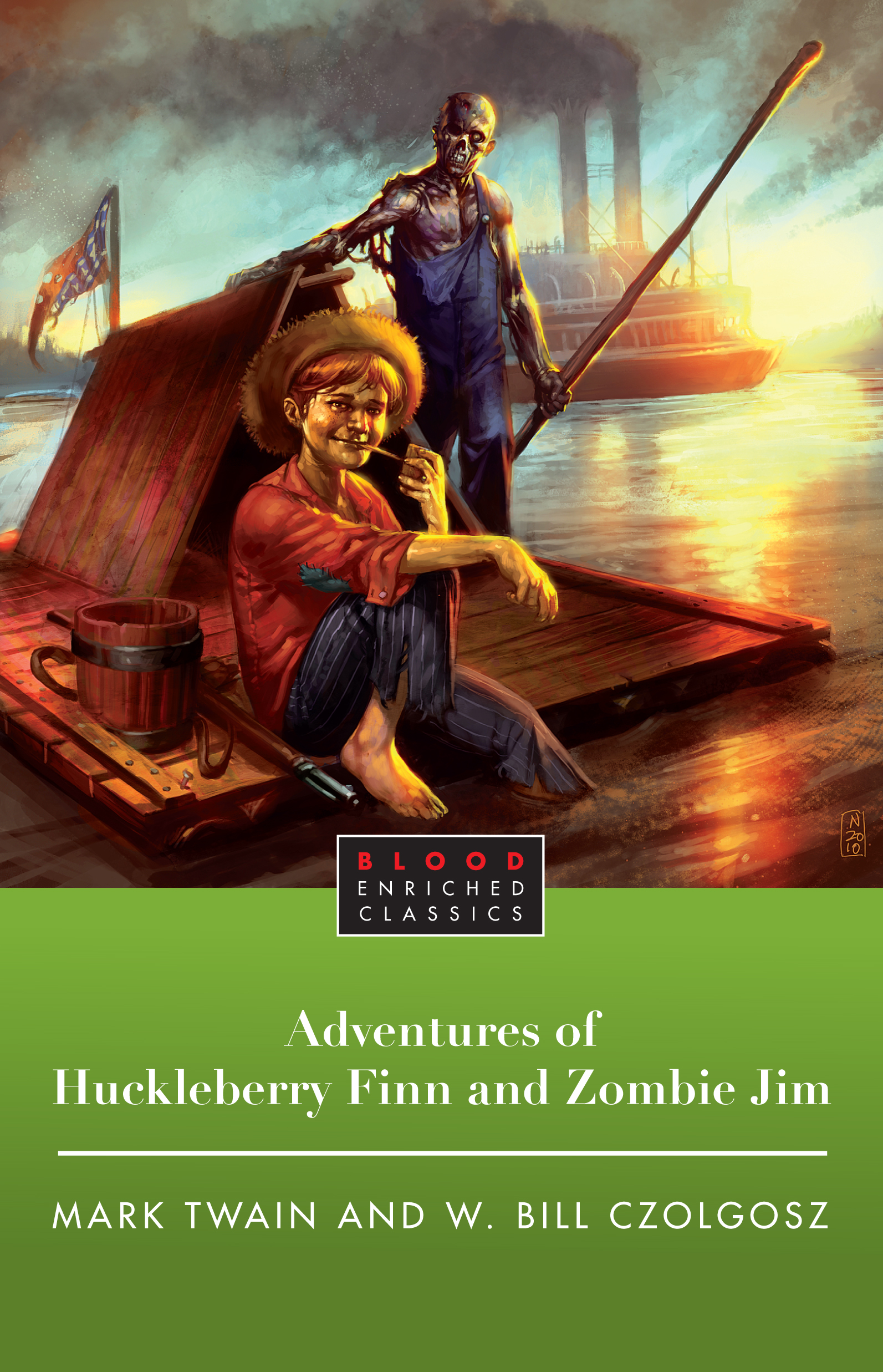 The Adventures Of Huckleberry Finn And Zombie Jim Ebook By