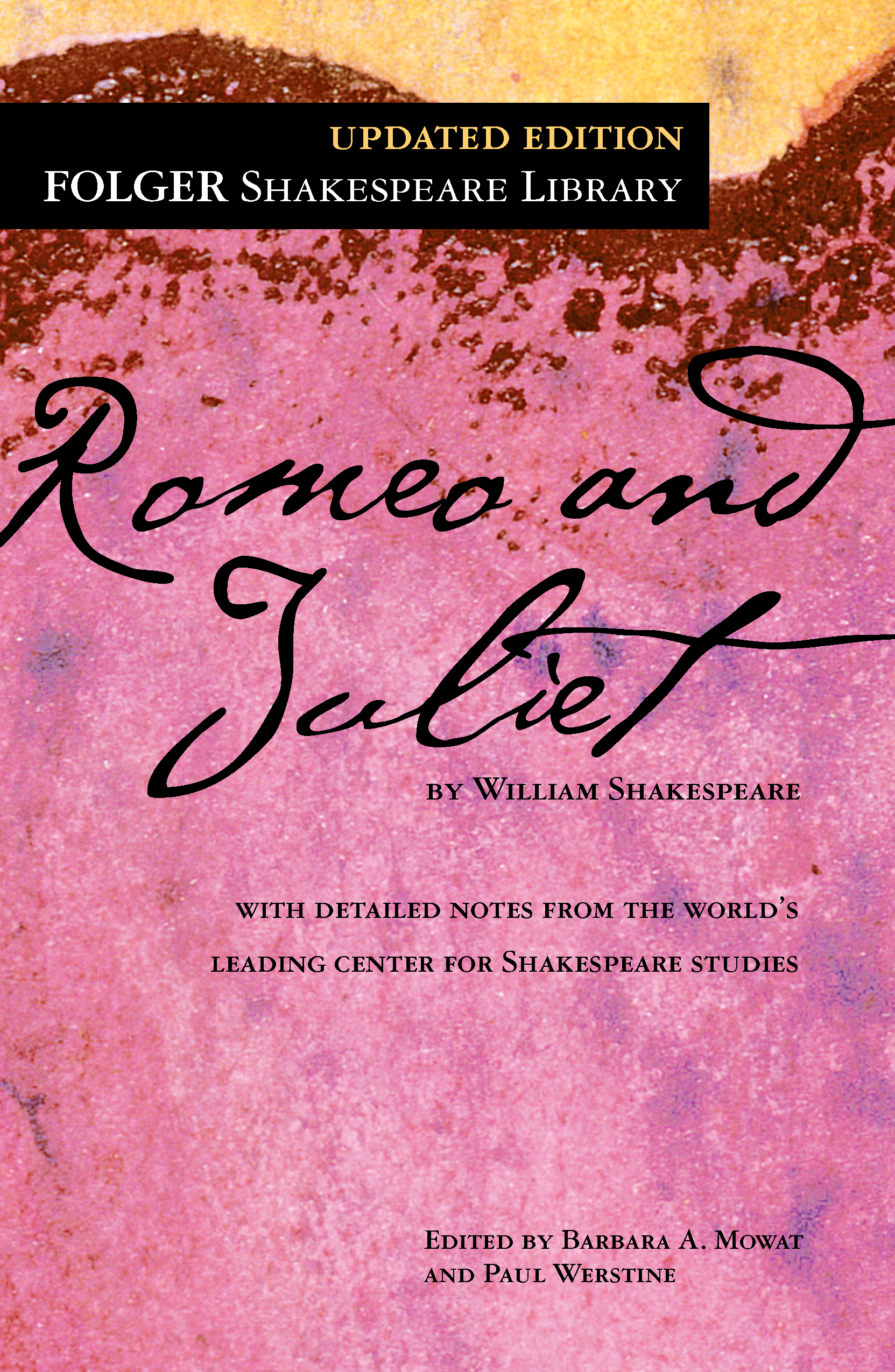 Romeo And Juliet  Book By William Shakespeare Dr Barbara A Mowat  Romeo And Juliet