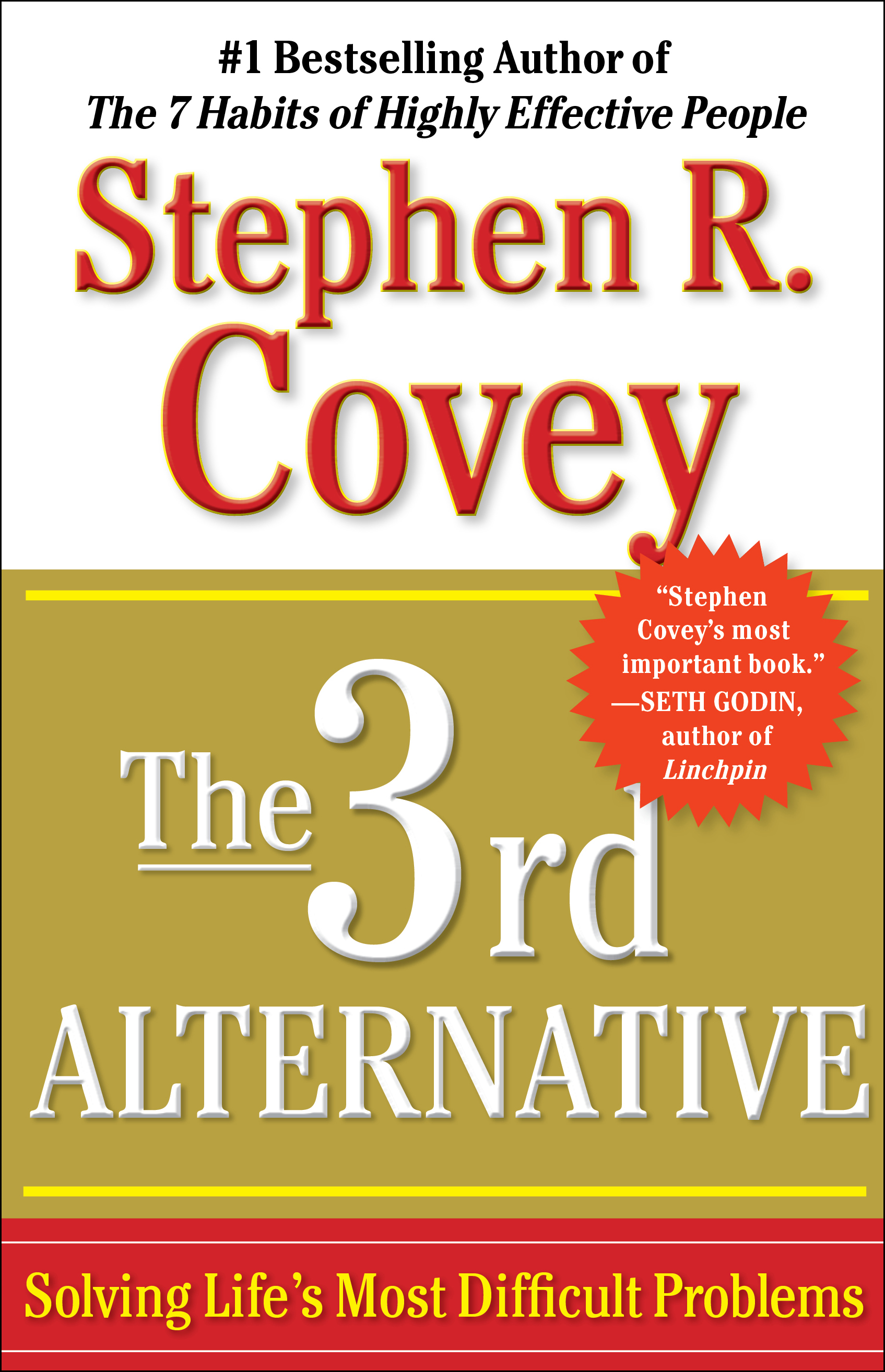 The 3rd Alternative Book By Stephen R Covey Official Publisher