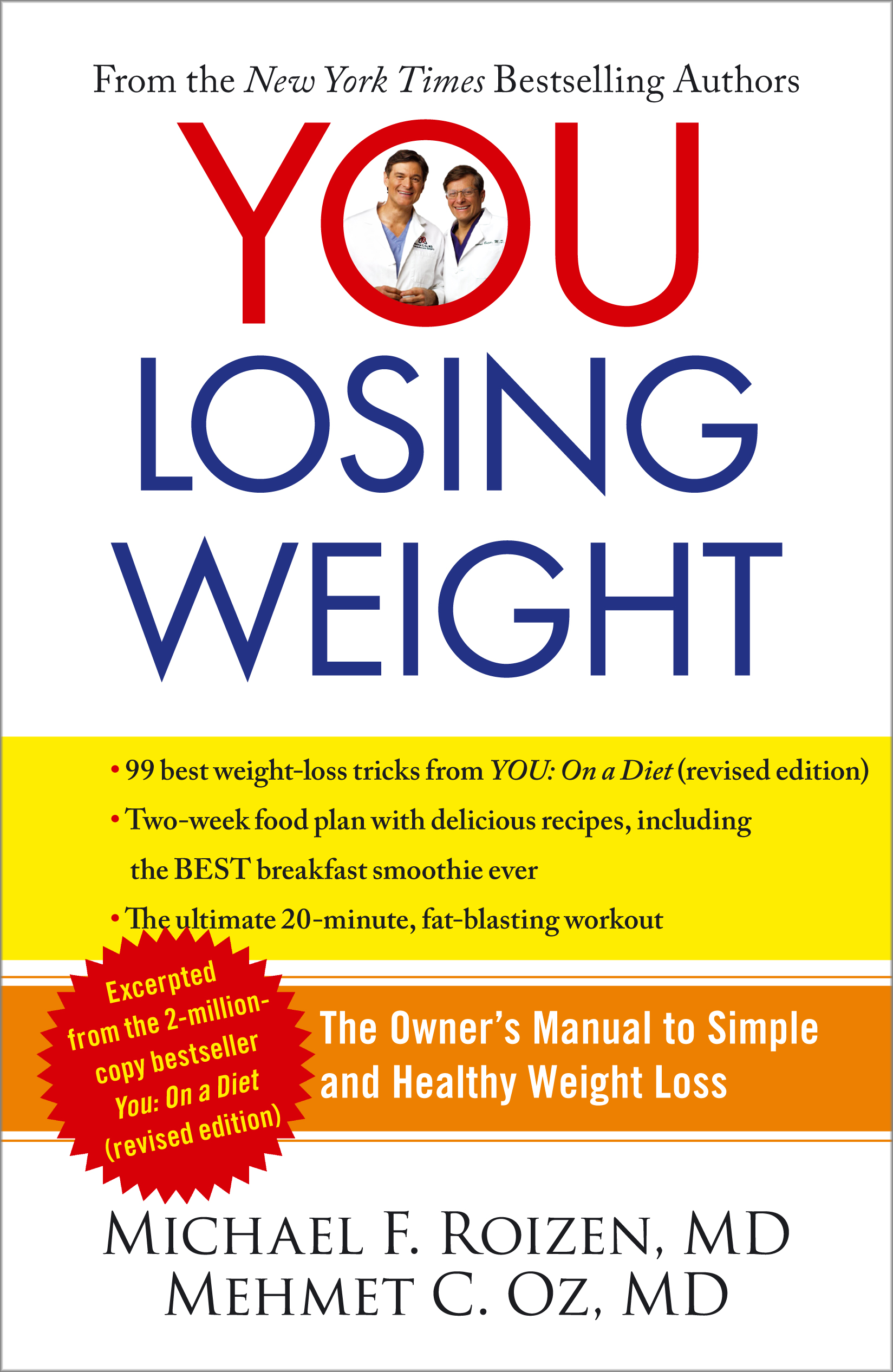 you losing weight book by michael f roizen mehmet oz official rh simonandschuster com Training Manual Template Jump Manual Workout Chart