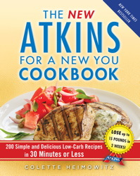 Buy The New Atkins for a New You Cookbook