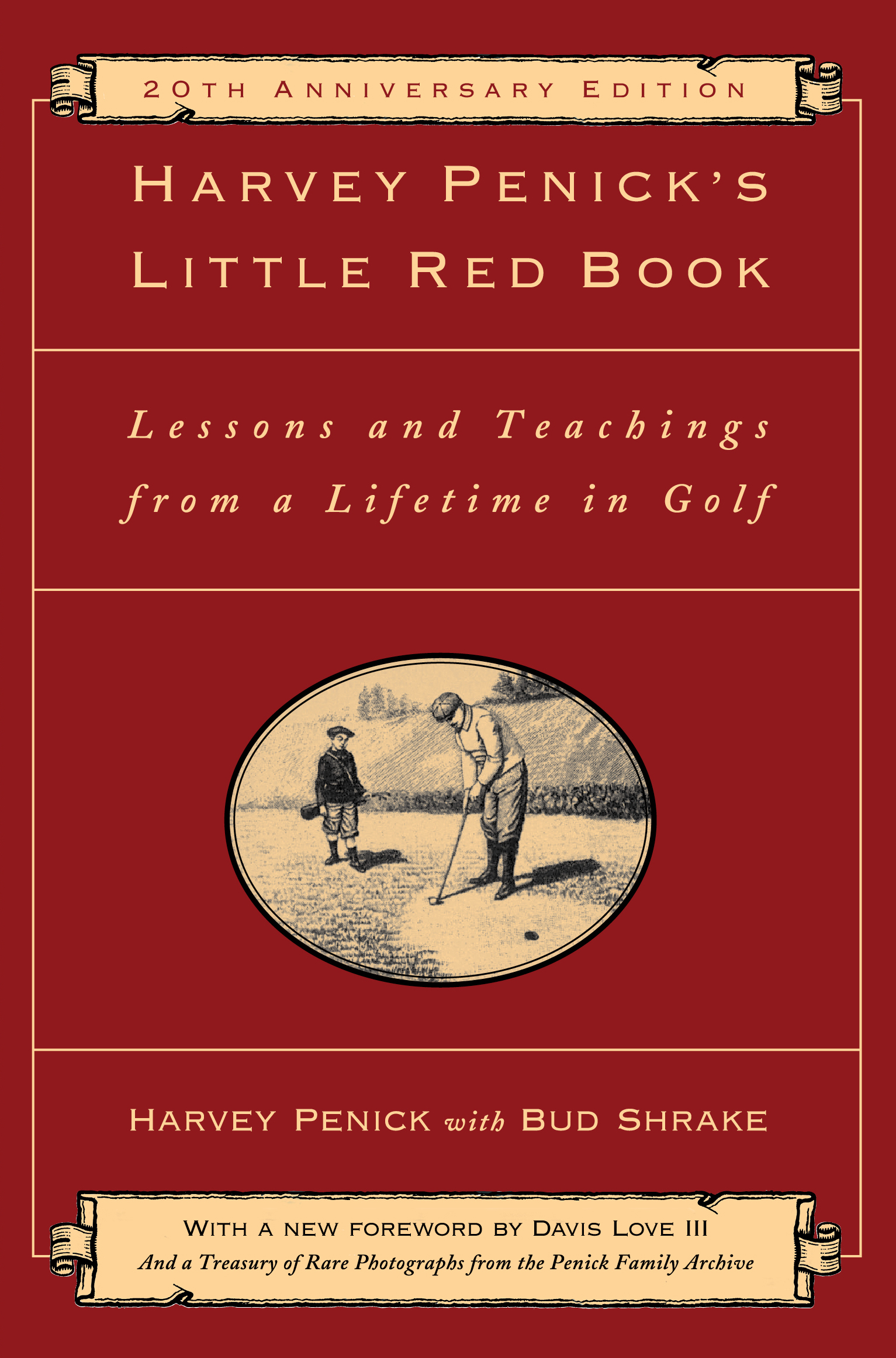Book Cover Image (jpg): Harvey Penick's Little Red Book