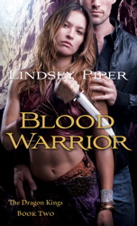Blood Warrior book cover