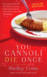 You Cannoli Die Once book cover