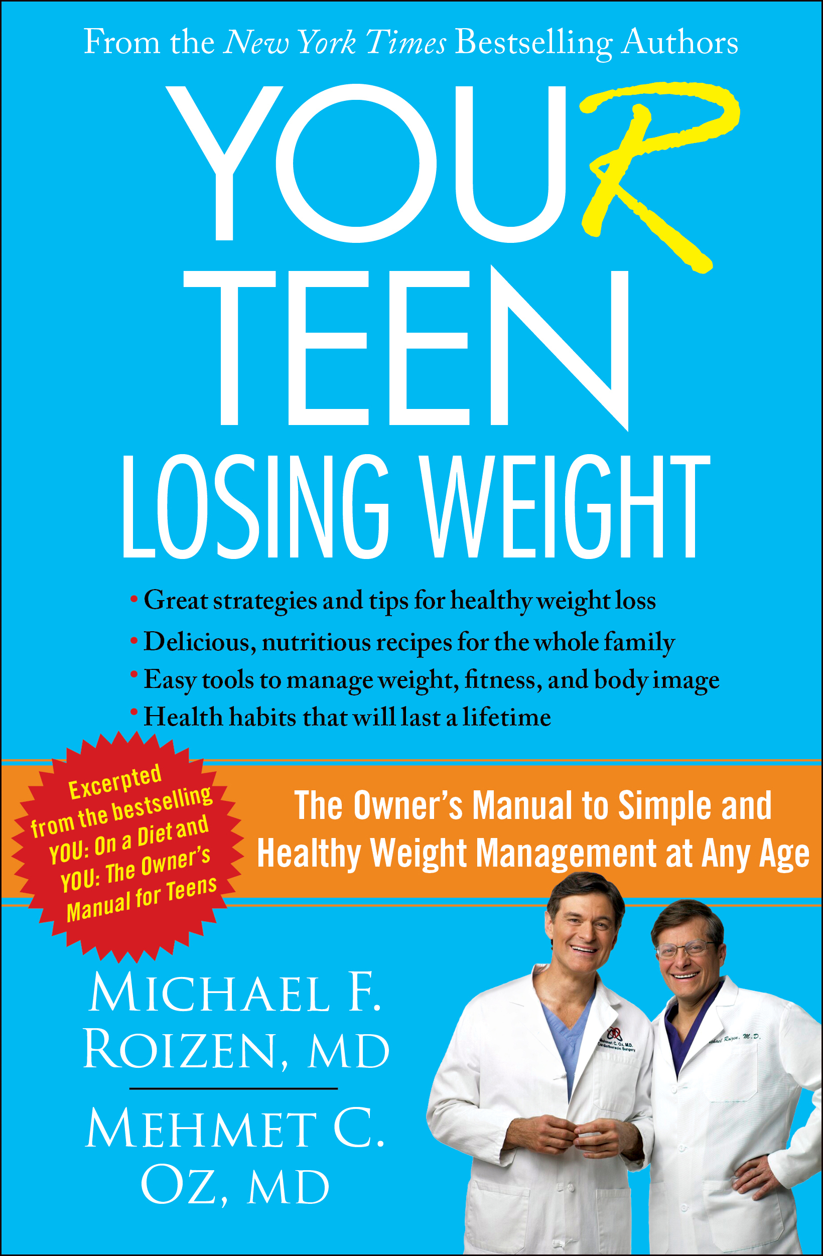 you r teen losing weight book by michael f roizen mehmet oz rh simonandschuster com Operators Manual Cartoon Manual