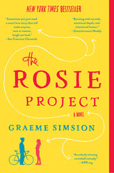 Rosie Project book cover