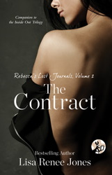 Rebecca's Lost Journals, Volume 2: The Contract book cover